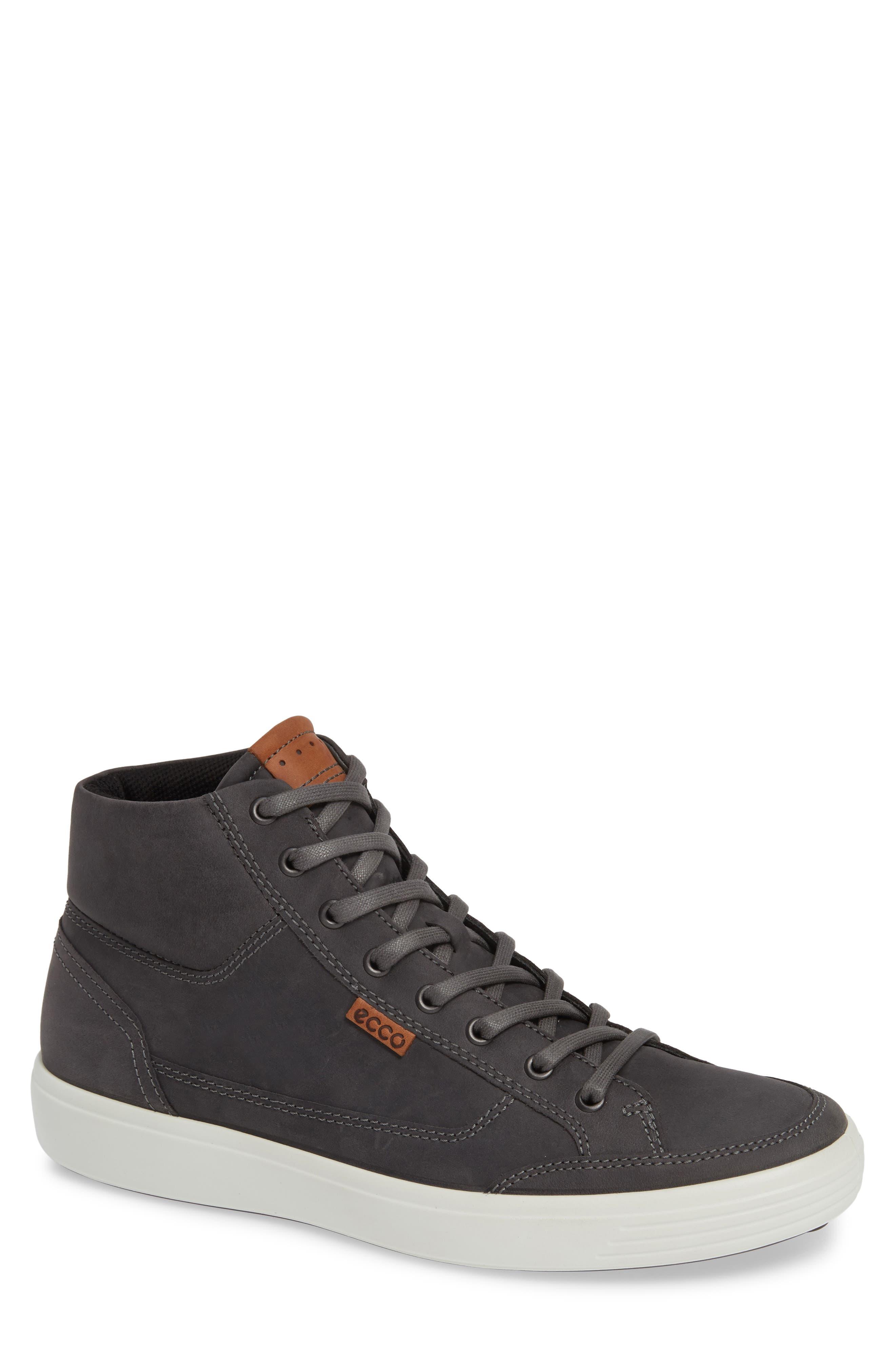 Soft 7 Sneaker,                         Main,                         color, TITANIUM LEATHER