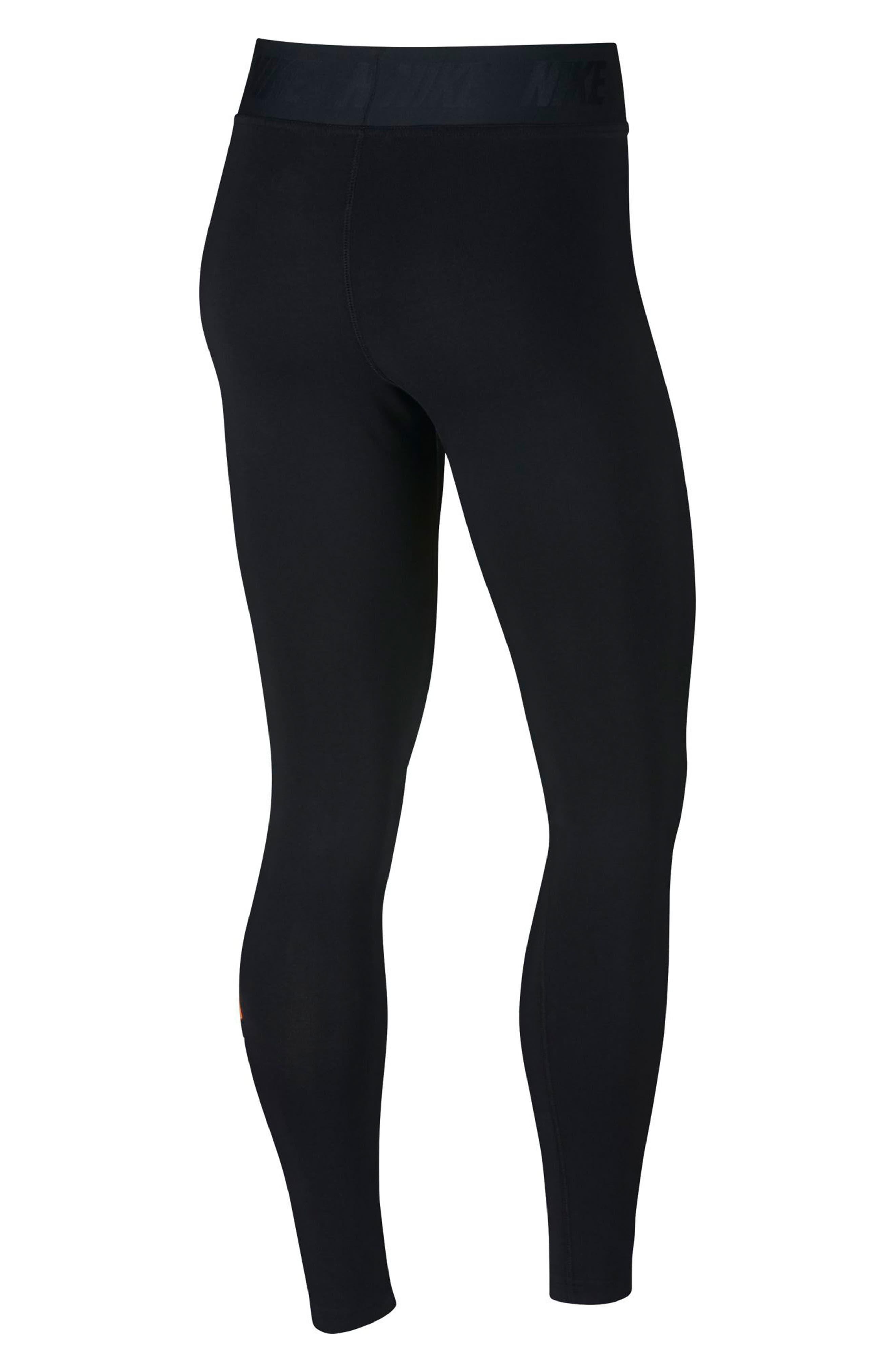 Sportswear Just Do It High Rise Women's Leggings,                             Alternate thumbnail 2, color,                             BLACK