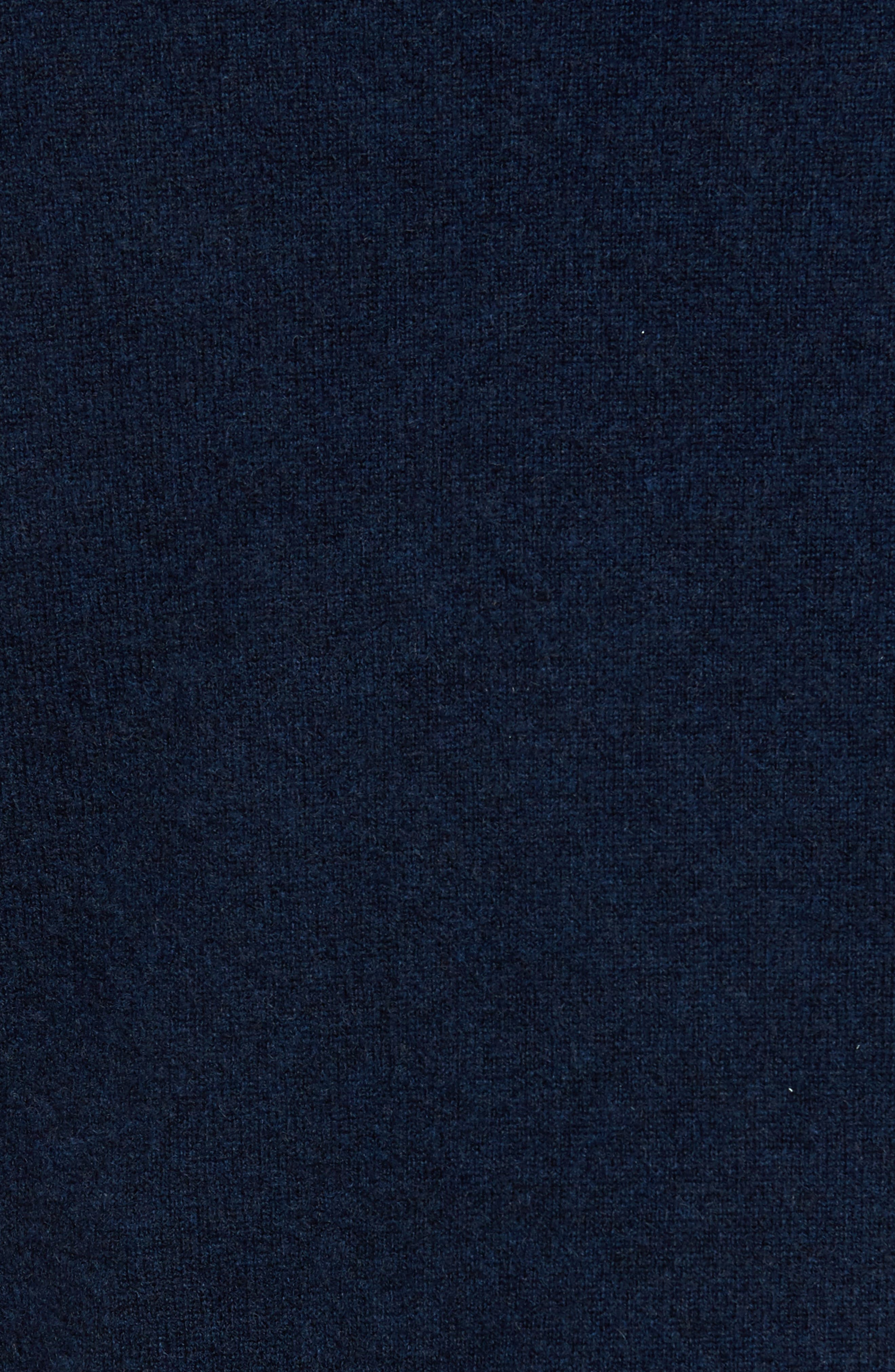 John W. Nordstrom Cashmere V-Neck Sweater,                             Alternate thumbnail 6, color,                             BLUE ESTATE HEATHER