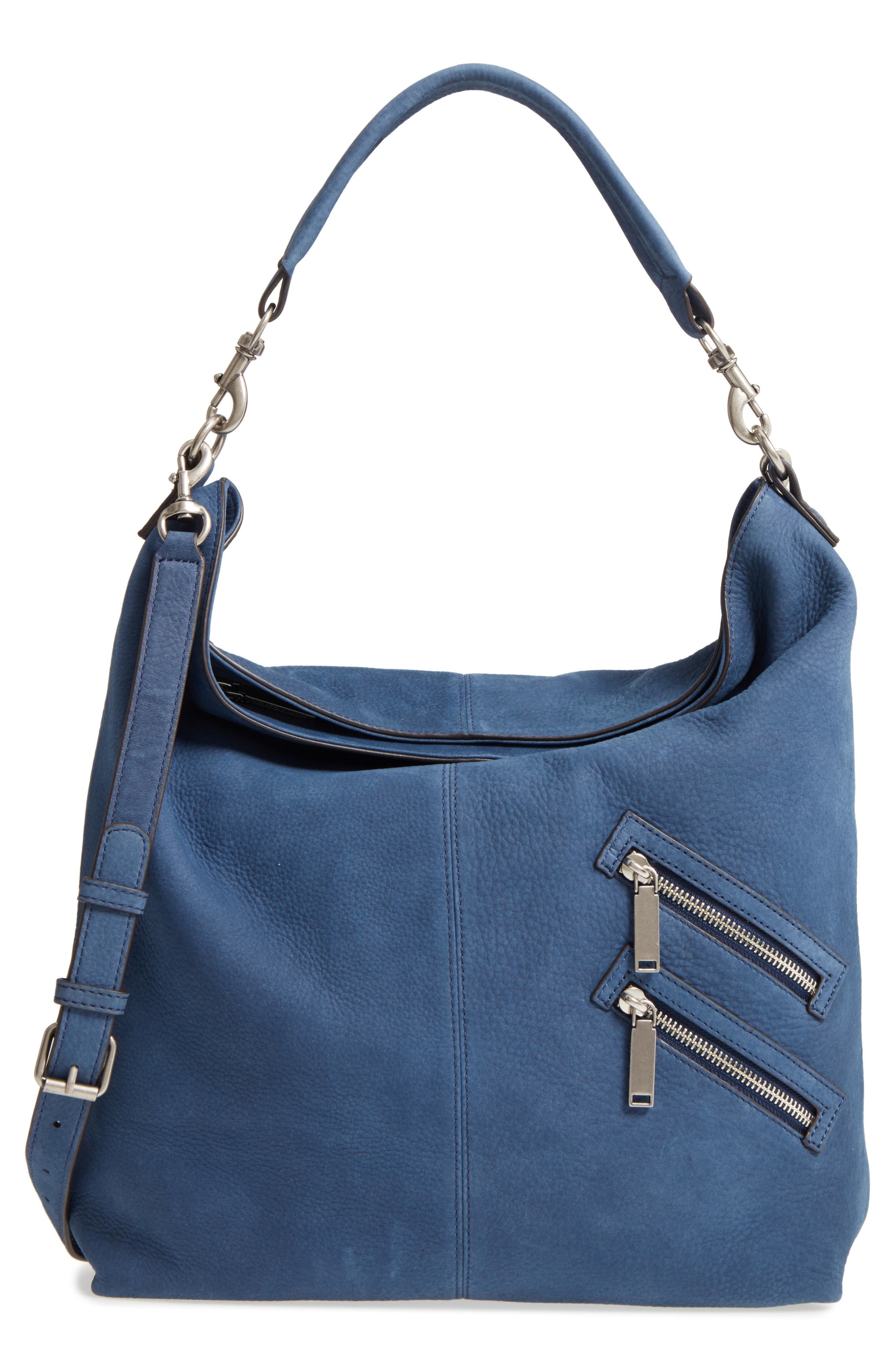 Large Jamie Convertible Leather Hobo,                             Main thumbnail 1, color,                             483