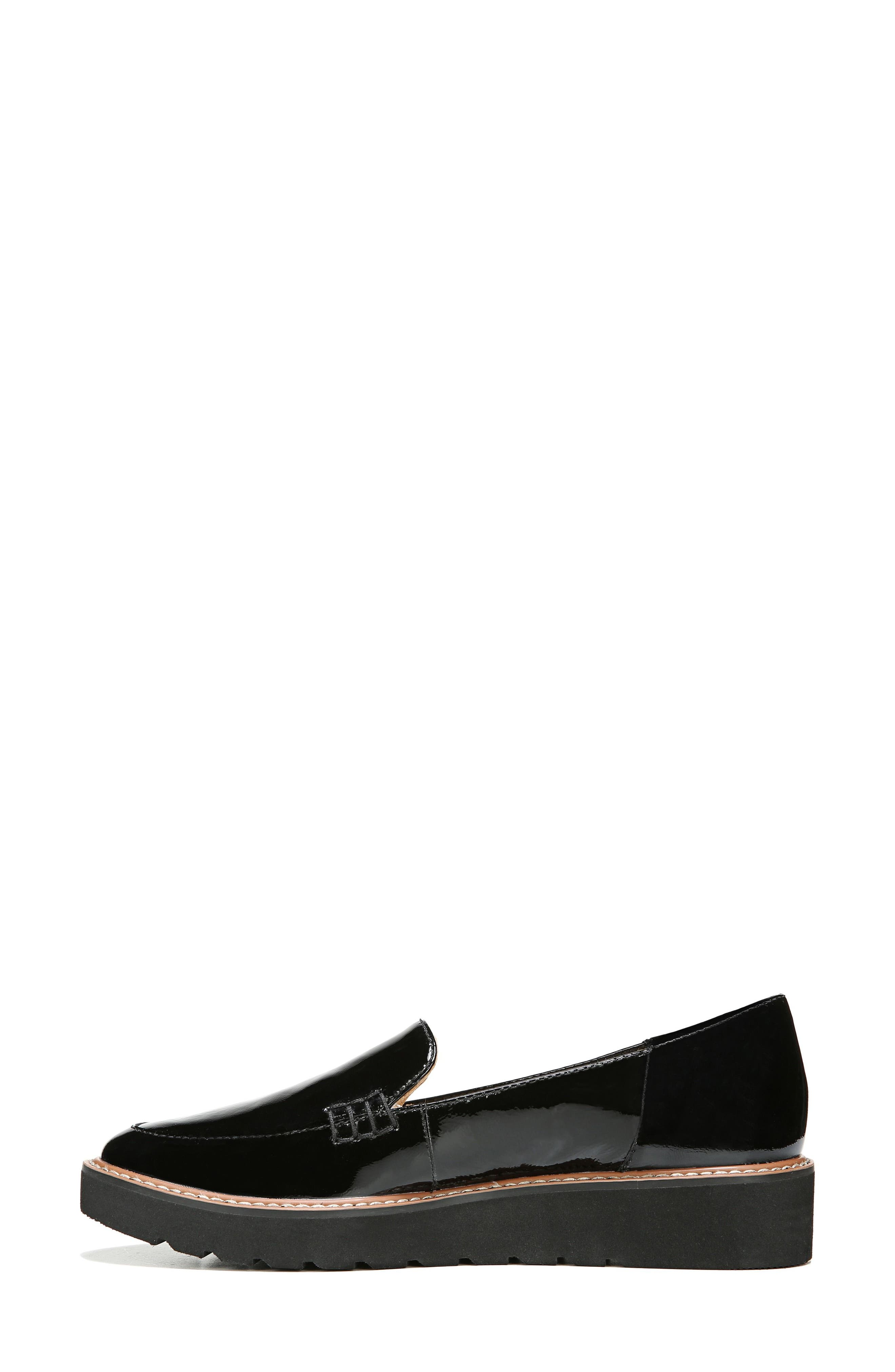 Andie Loafer,                             Alternate thumbnail 3, color,                             BLACK PATENT