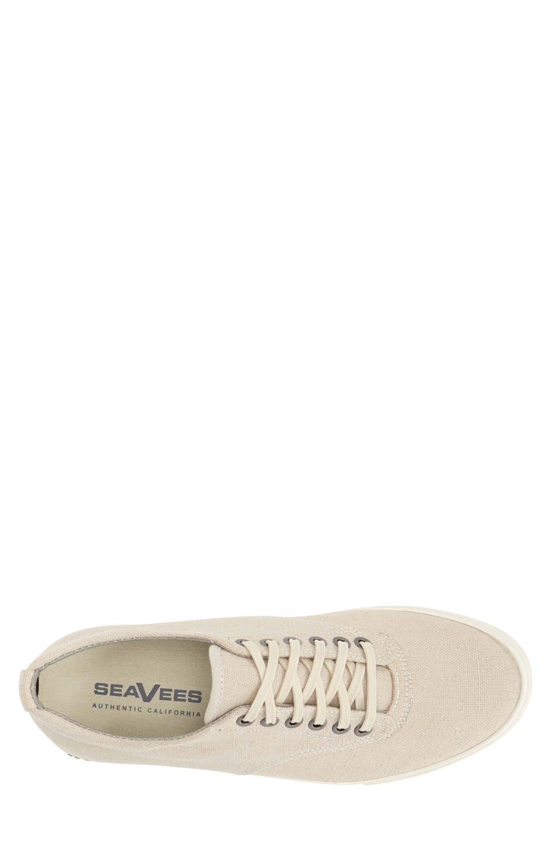 'Hermosa Plimsoll' Sneaker,                             Alternate thumbnail 4, color,                             NATURAL