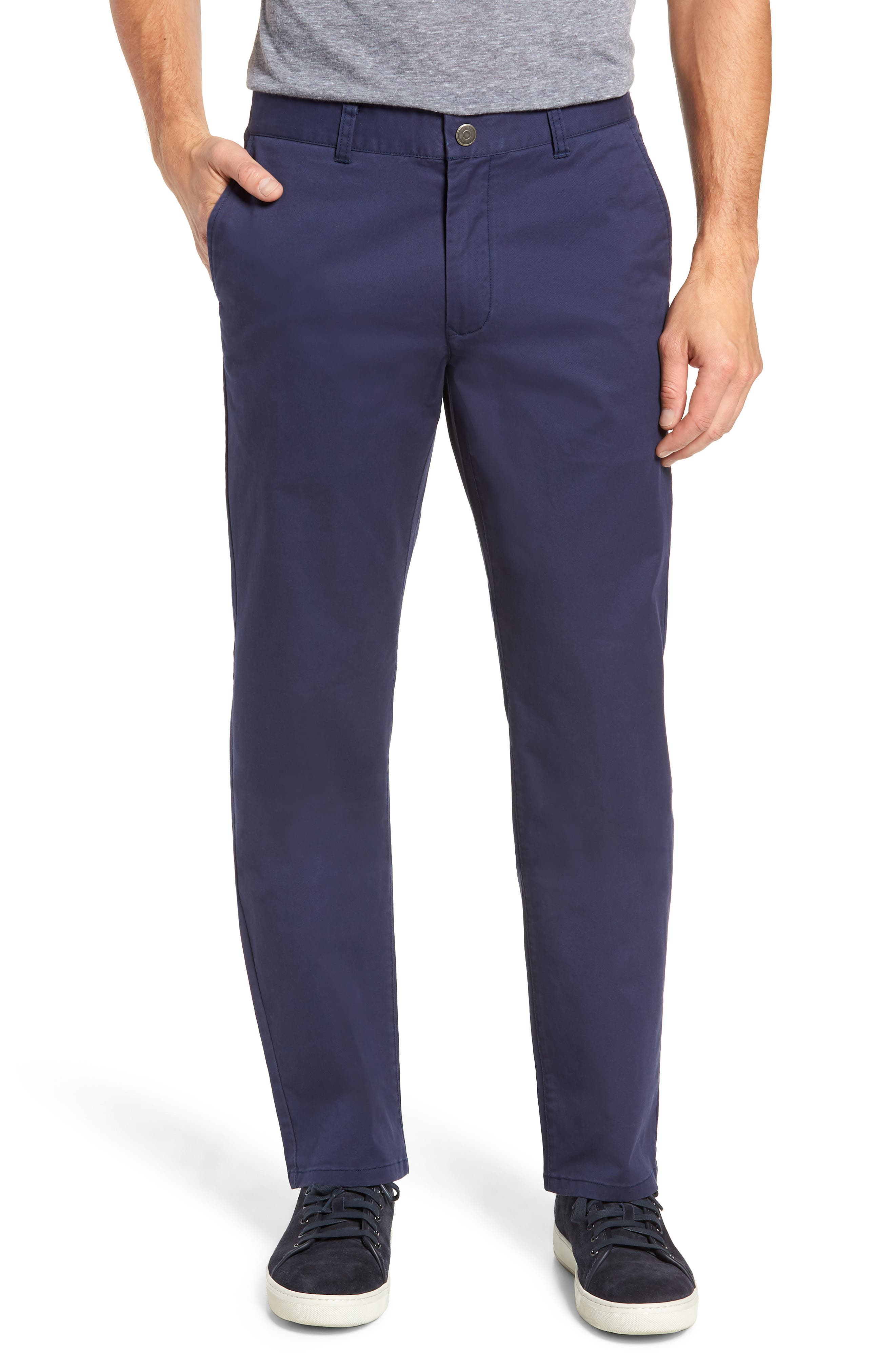 Straight Leg Stretch Washed Chinos,                             Main thumbnail 3, color,