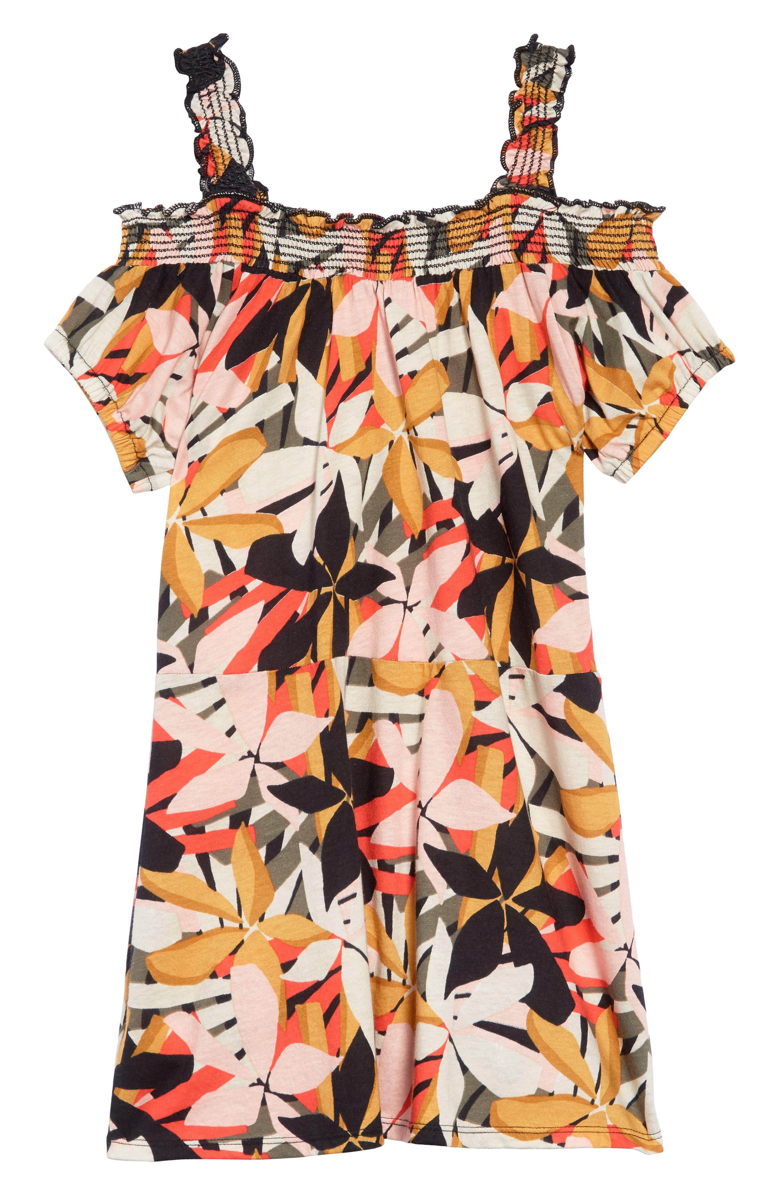 Coastal Love Dress,                             Main thumbnail 1, color,                             MULTI
