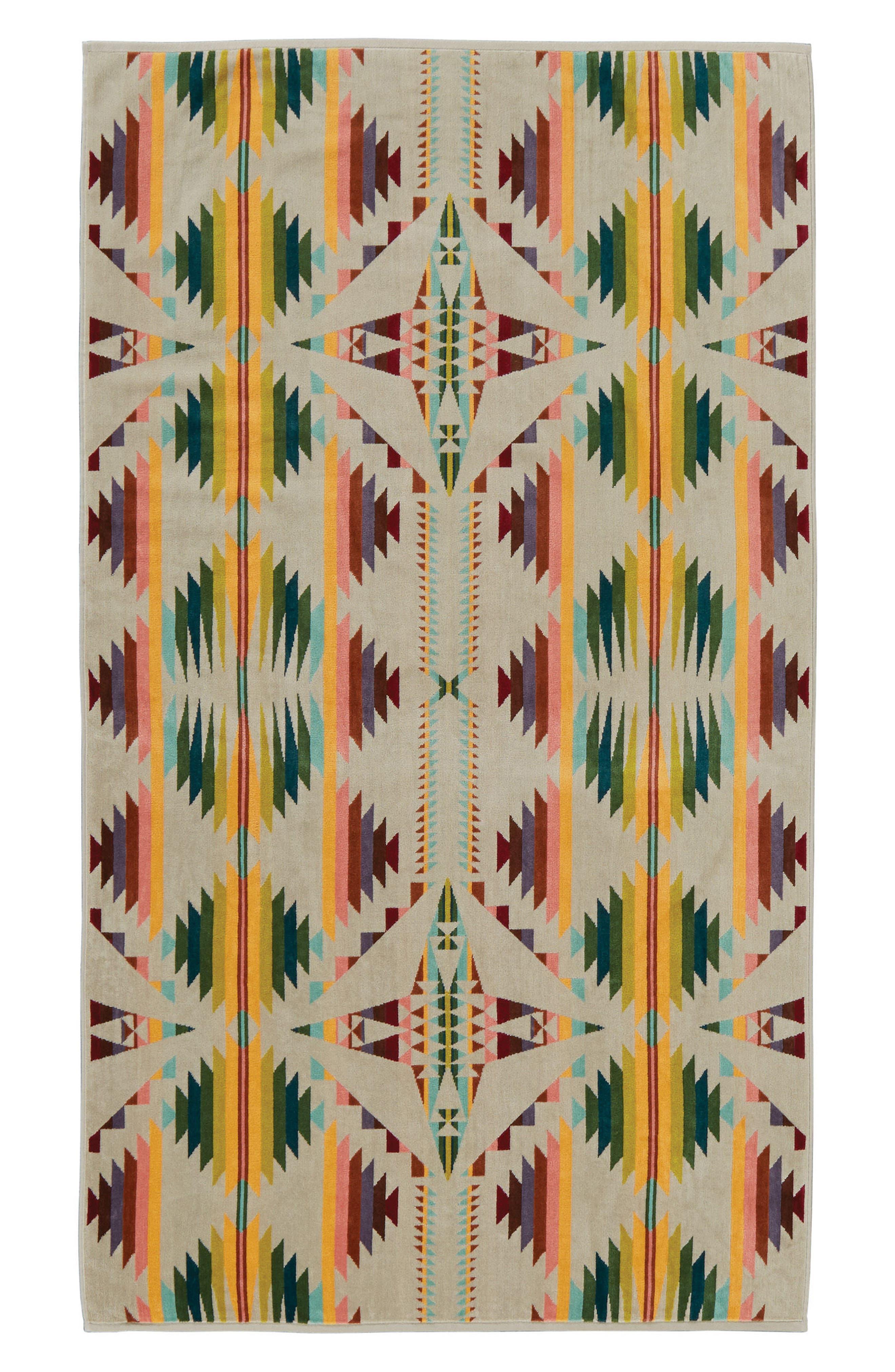Spa Beach Towel,                             Main thumbnail 1, color,                             TAN