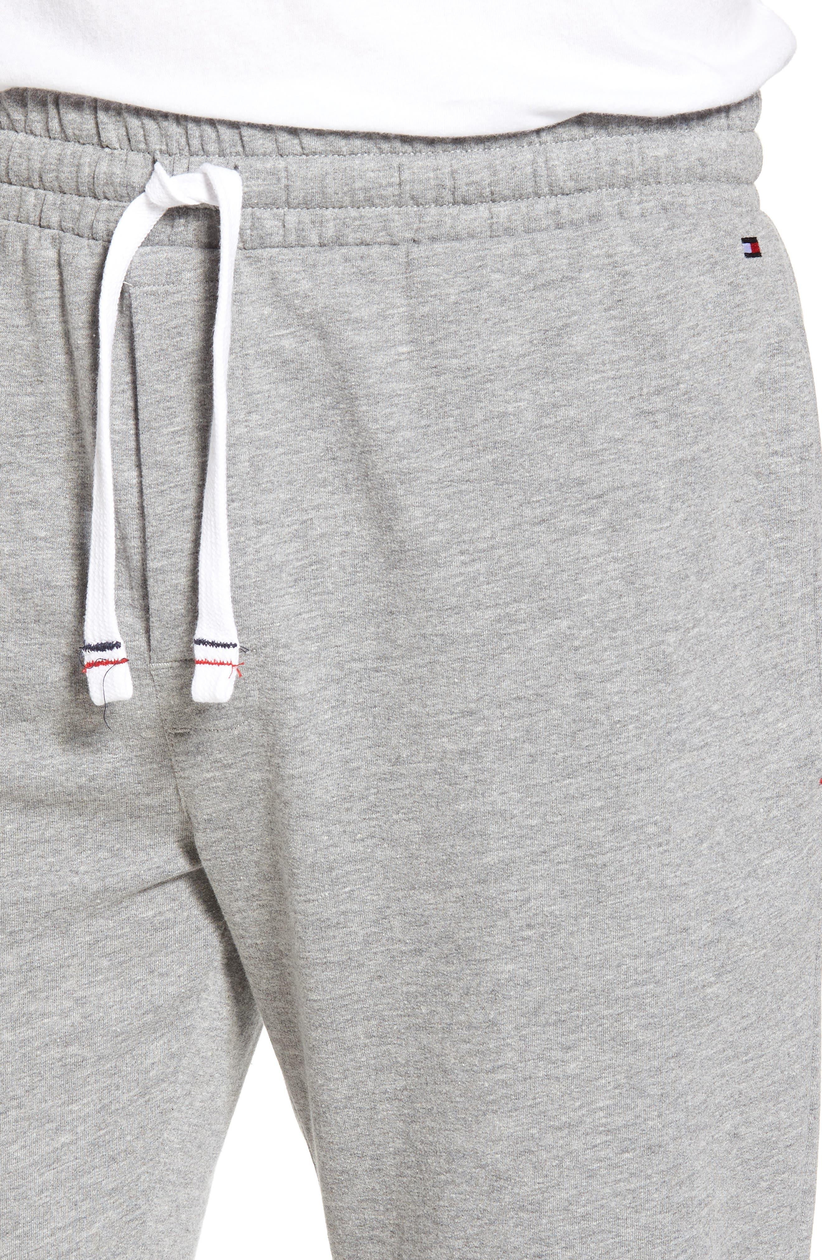 Jogger Lounge Pants,                             Alternate thumbnail 4, color,                             GREY HEATHER