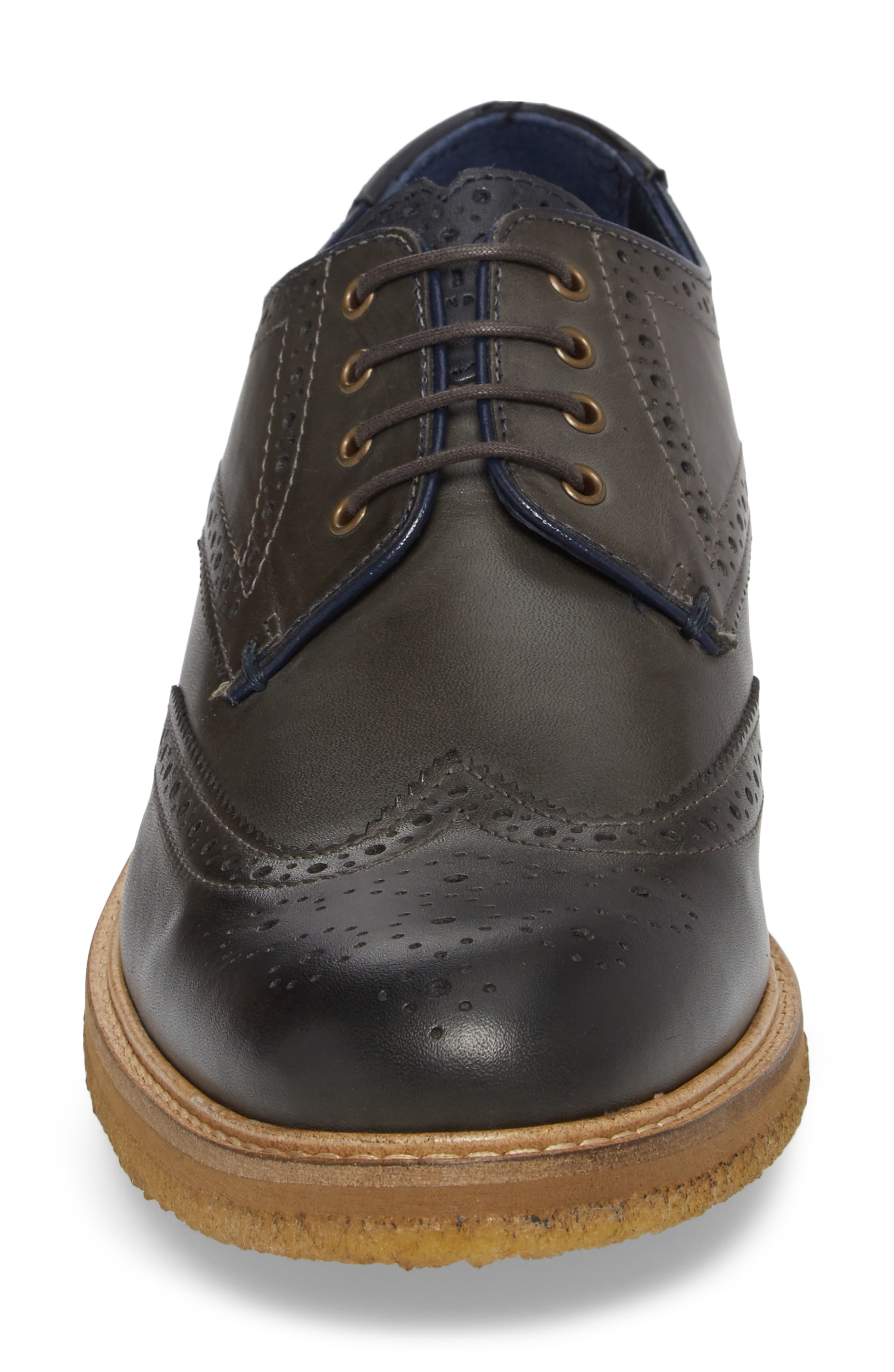 TED BAKER LONDON,                             Prycce Wingtip Derby,                             Alternate thumbnail 4, color,                             031