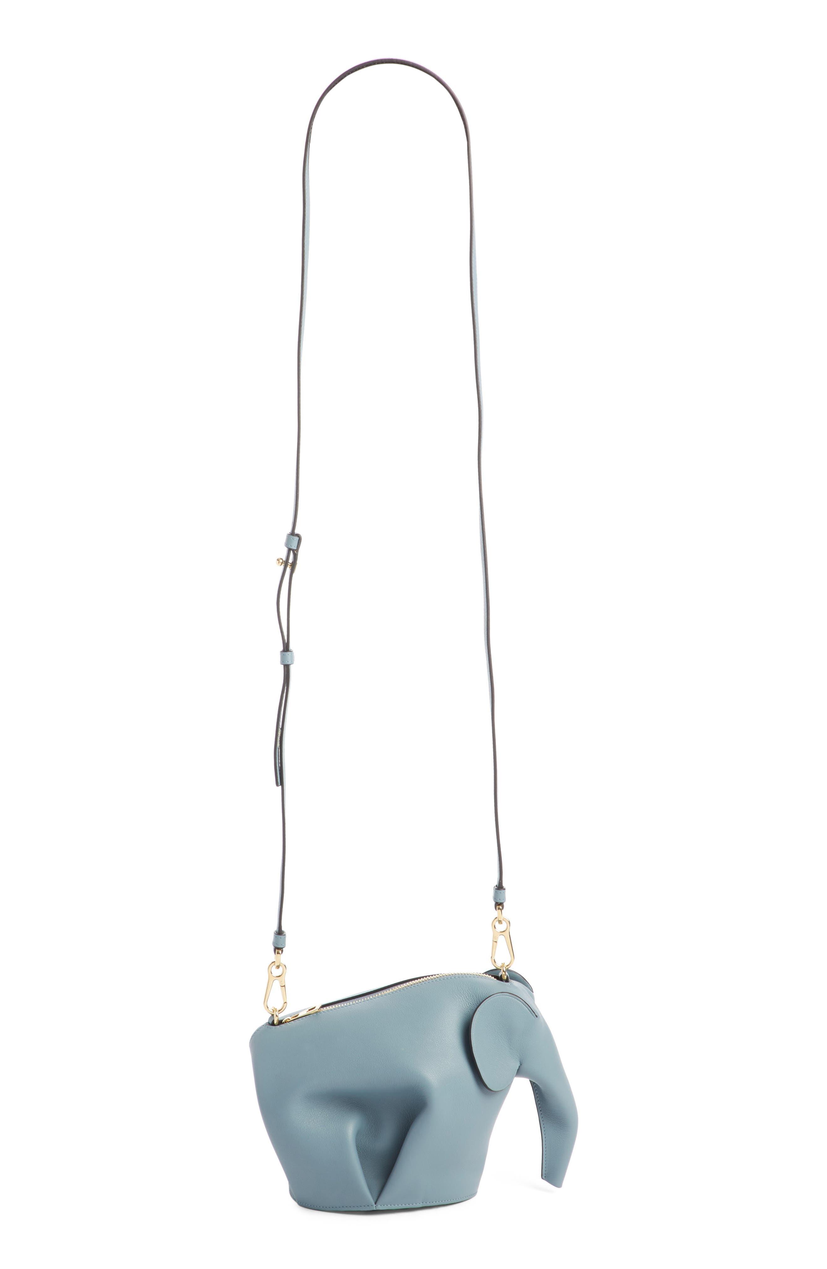 'Mini Elephant' Crossbody Bag,                             Main thumbnail 4, color,