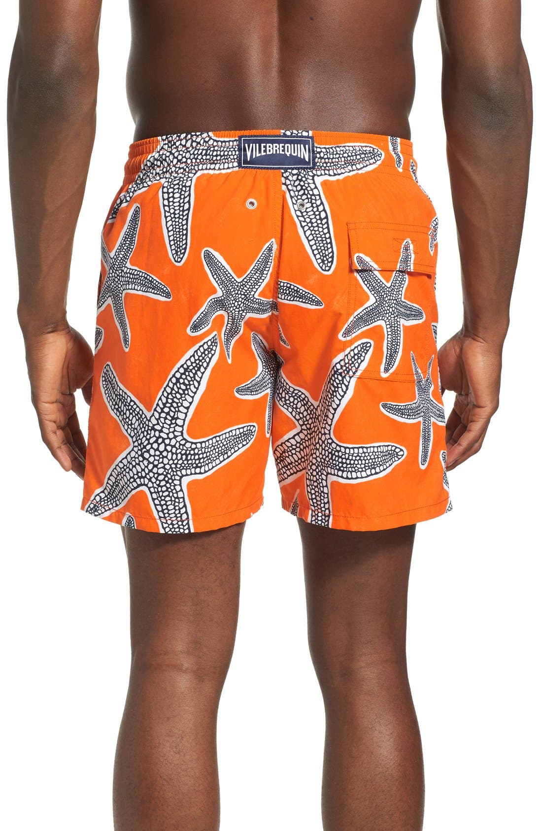 'Moorea - Starfish' Swim Trunks,                             Alternate thumbnail 2, color,                             833