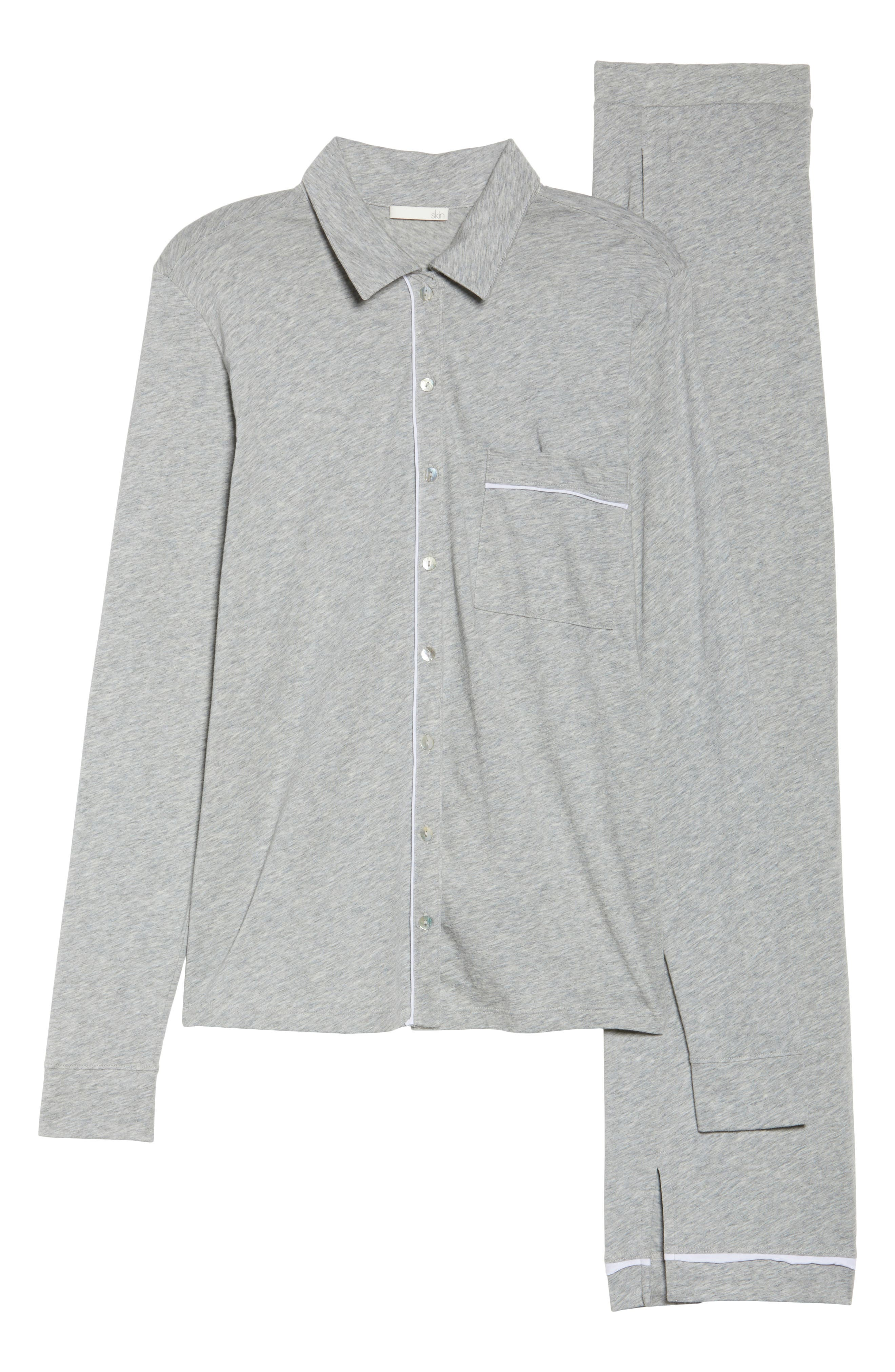 Penelope Pima Cotton Pajamas,                             Alternate thumbnail 6, color,                             020