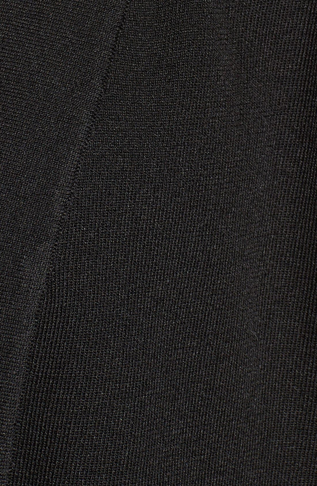 Patch Pocket Cardigan,                             Alternate thumbnail 5, color,                             BLACK