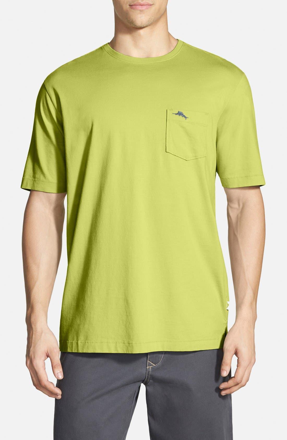 New Bali Sky Pima Cotton Pocket T-Shirt,                             Main thumbnail 56, color,