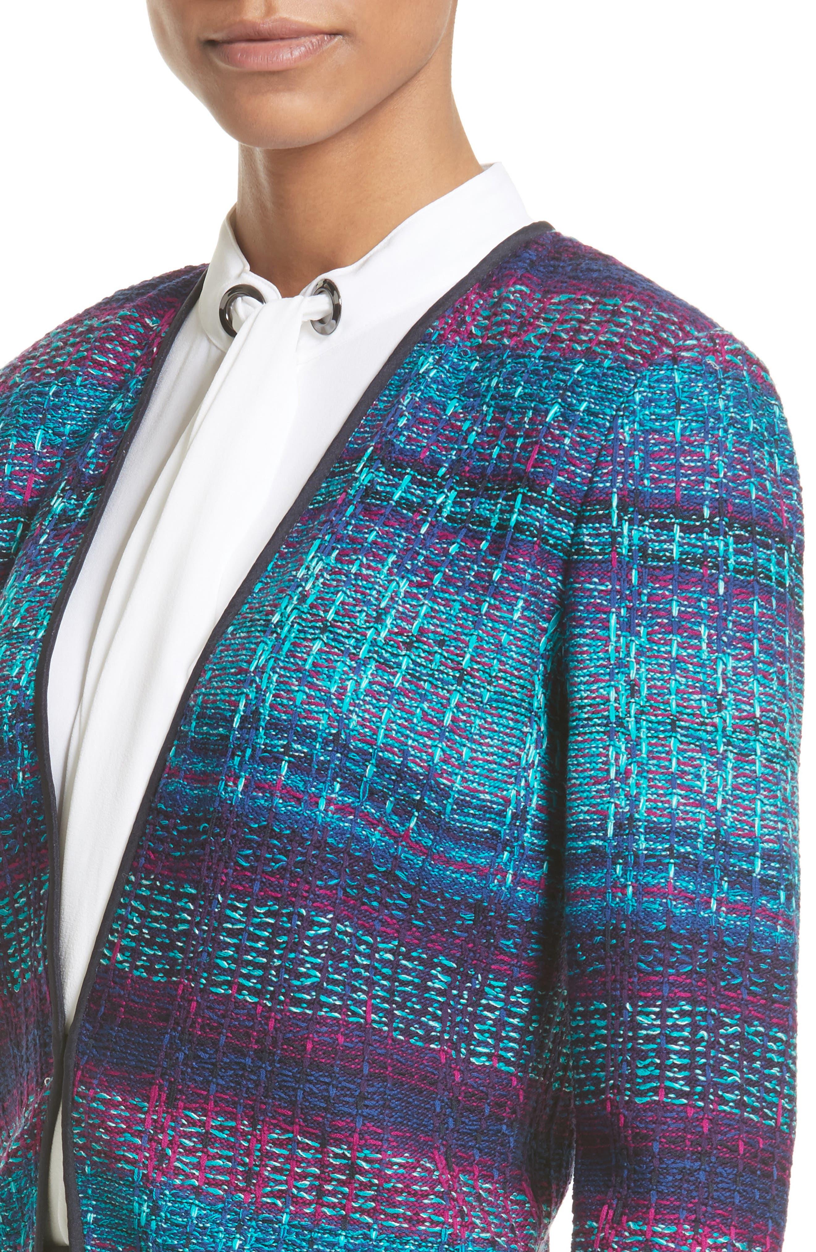 Ellah Knit Jacket,                             Alternate thumbnail 4, color,                             410