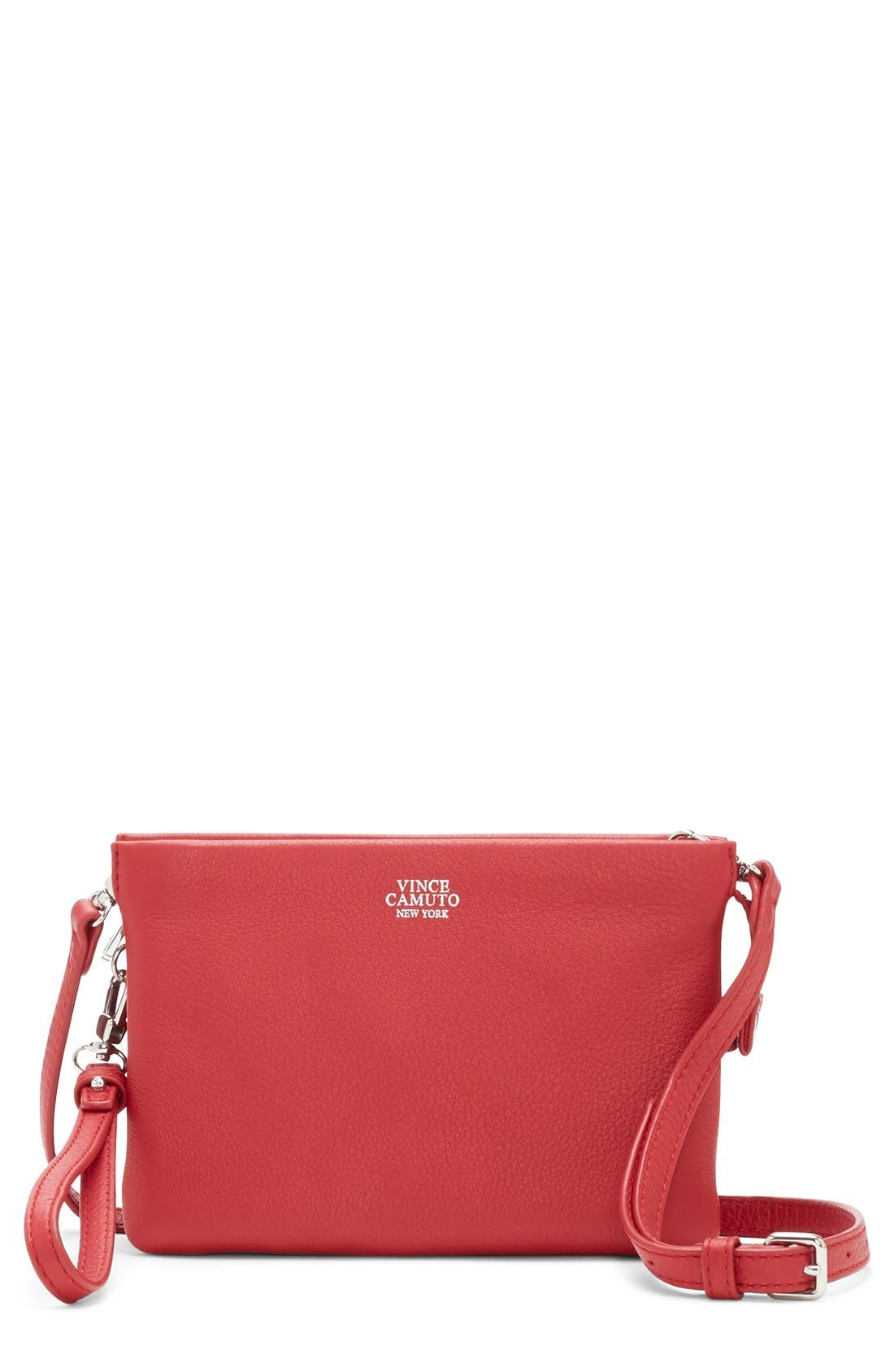 'Cami' Leather Crossbody Bag,                             Main thumbnail 31, color,
