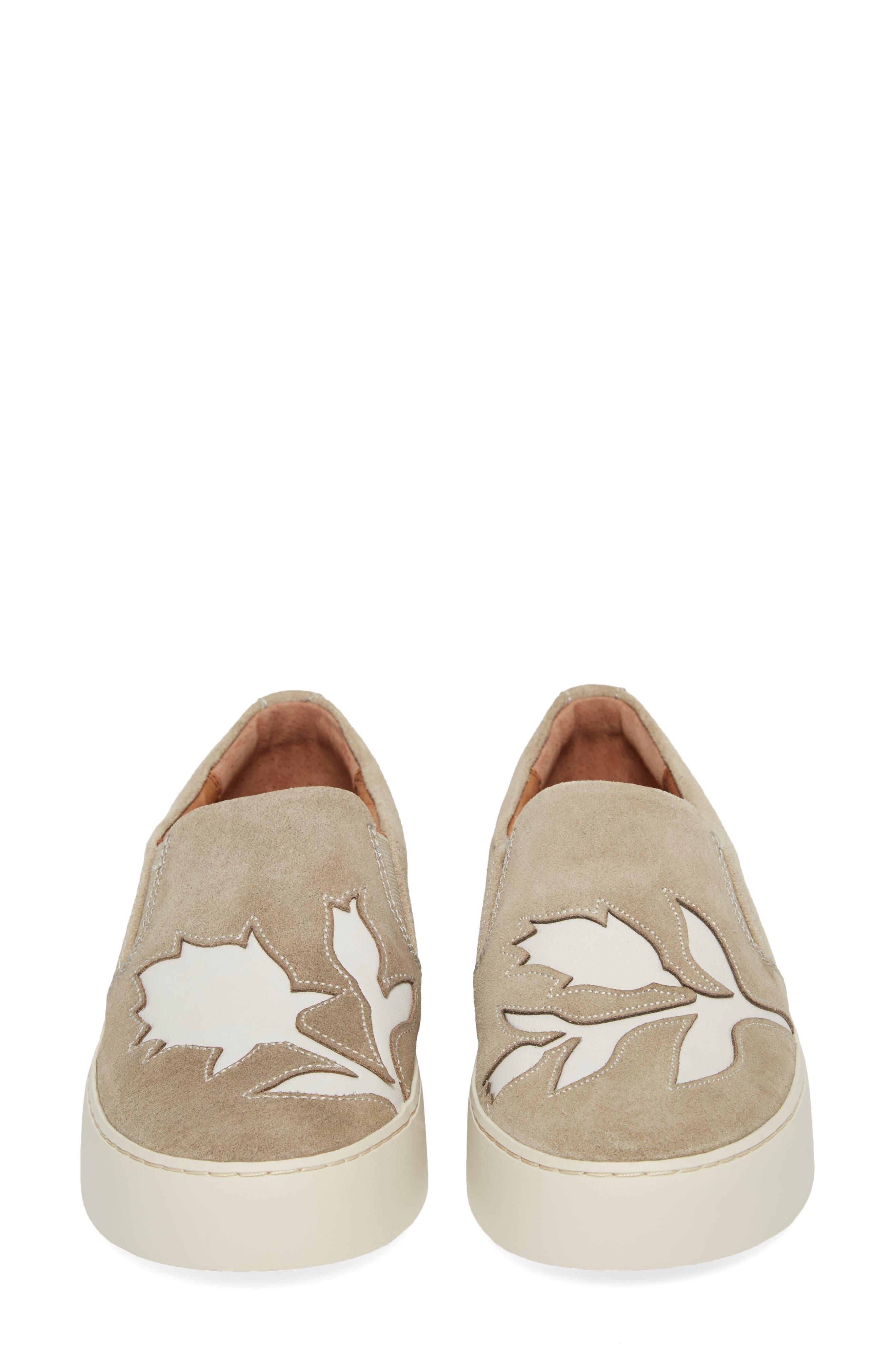 Lena Floral Slip-On Sneaker,                             Alternate thumbnail 10, color,