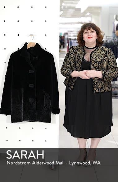 Genuine Shearling Coat, sales video thumbnail