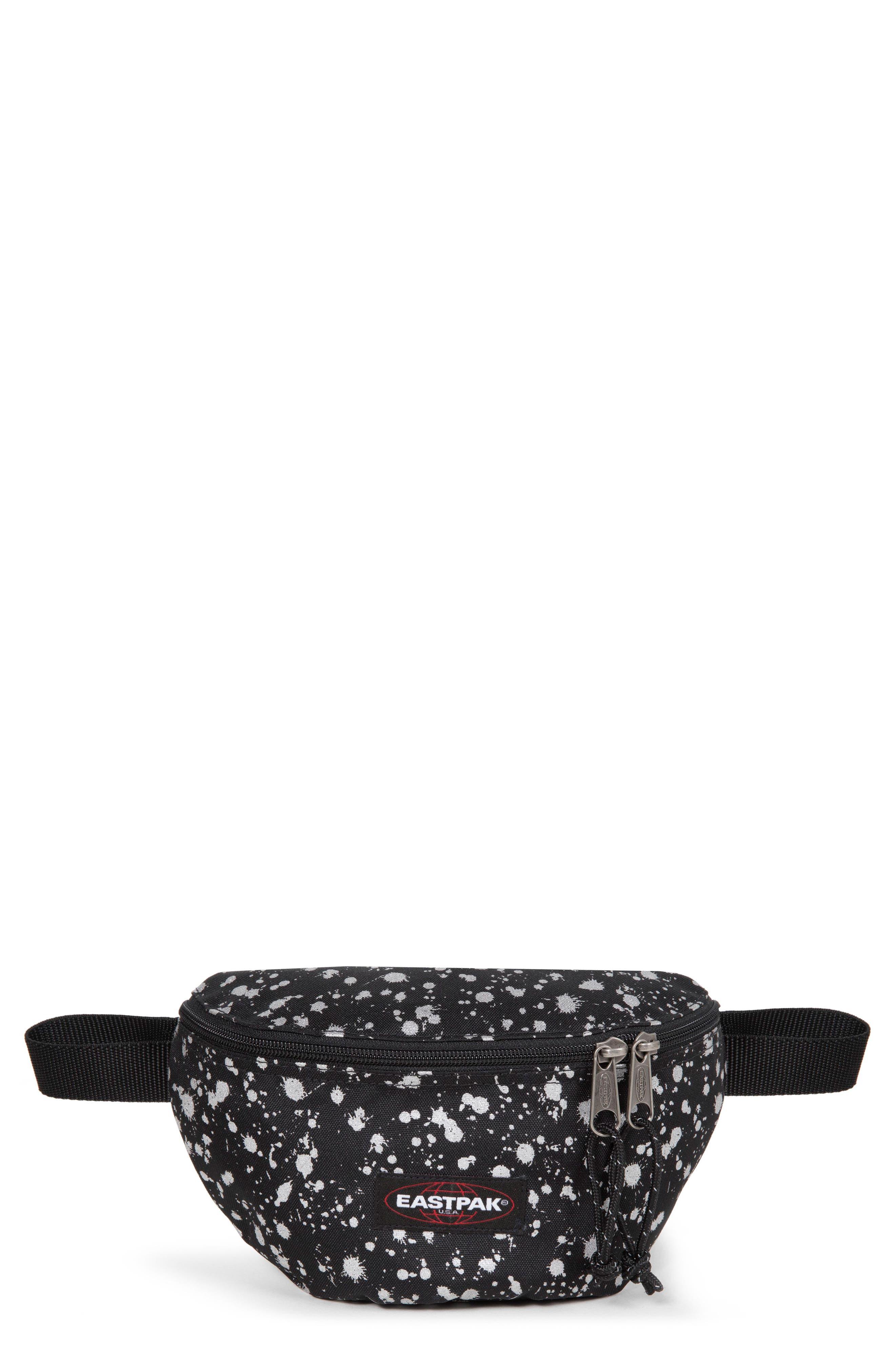 Springer Mist Canvas Belt Bag,                         Main,                         color, SILVER MIST
