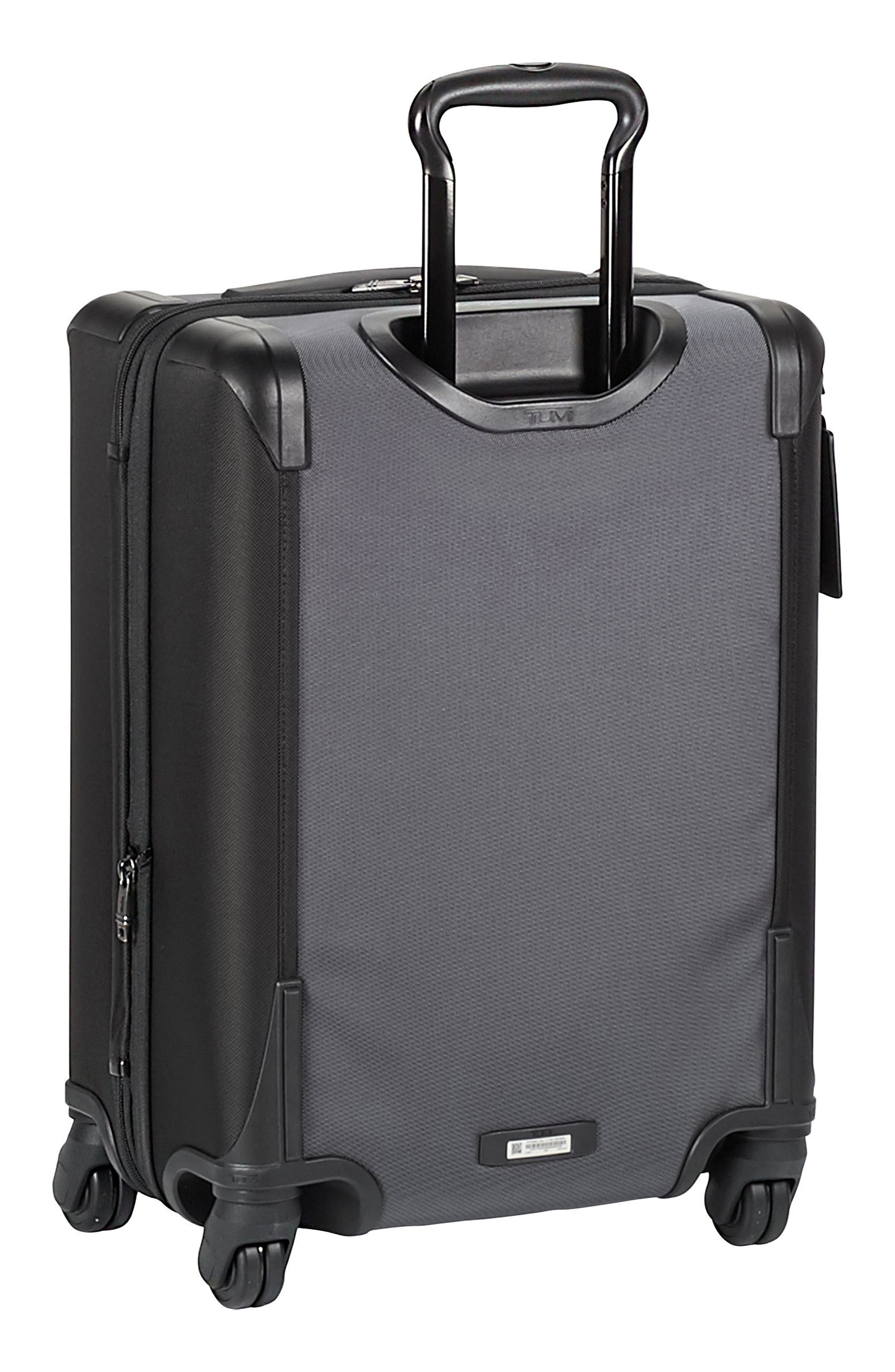Alpha 2 22-Inch Continental Wheeled Carry-On,                             Alternate thumbnail 4, color,                             PEWTER