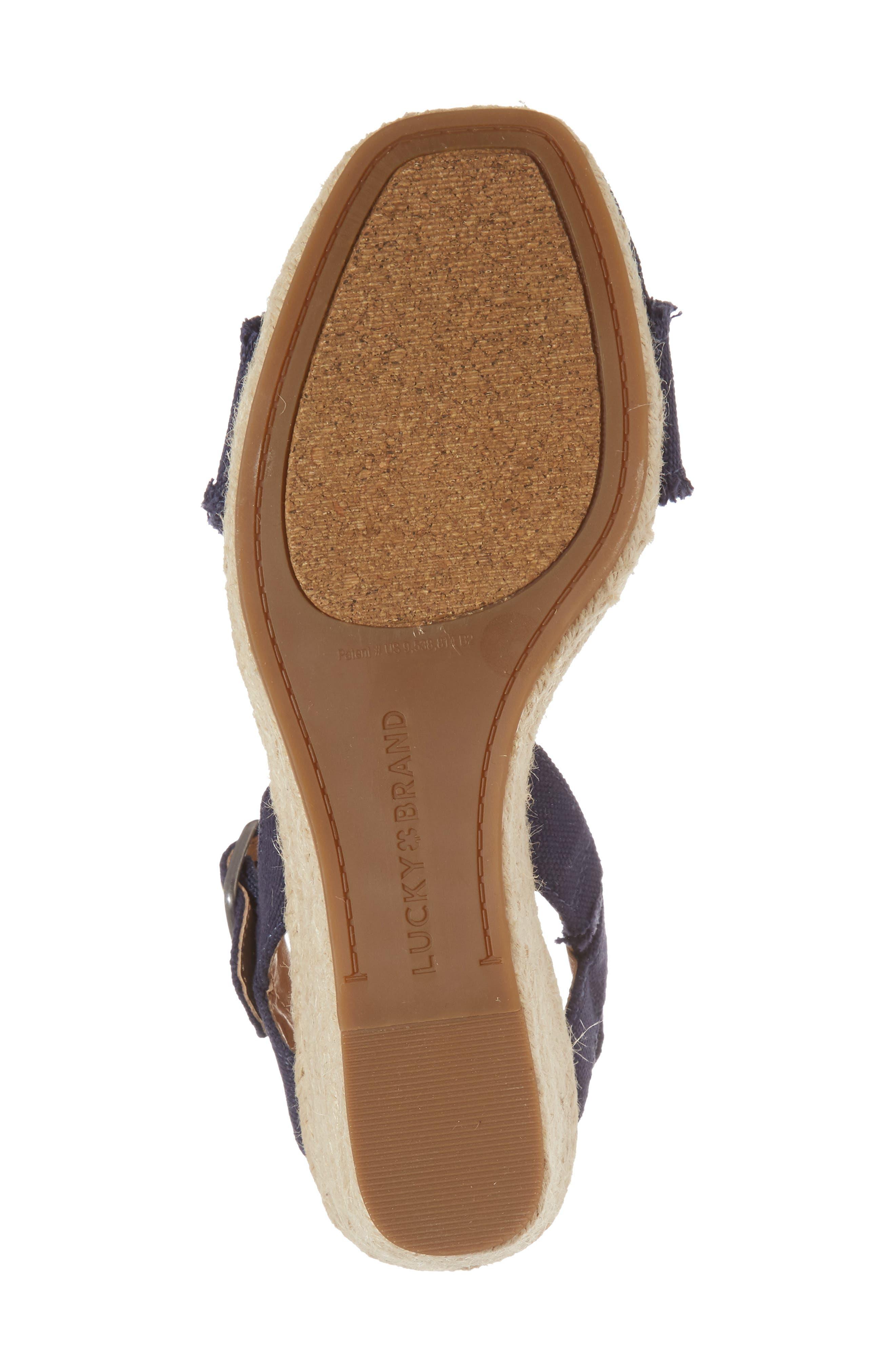 Marceline Squared Toe Wedge Sandal,                             Alternate thumbnail 39, color,