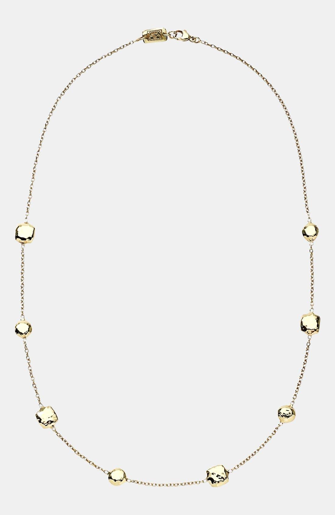 'Glamazon' 18k Gold Station Necklace,                             Alternate thumbnail 2, color,                             710