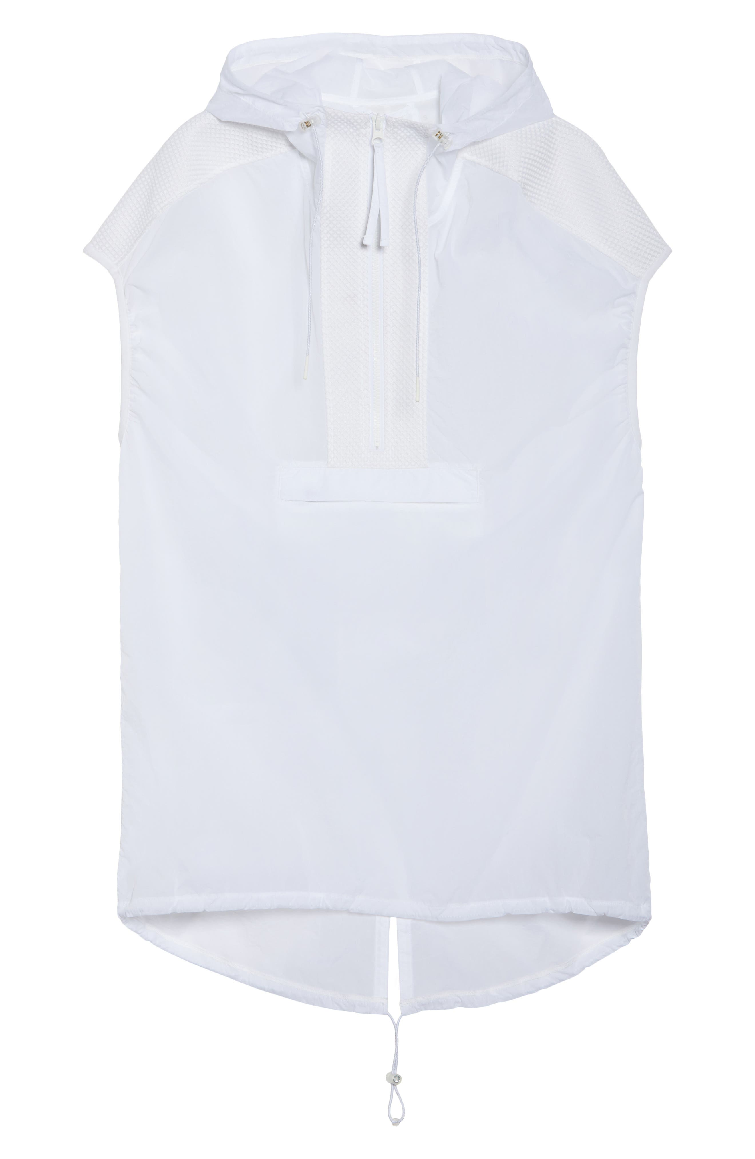 Gen Vive Hooded Vest,                             Alternate thumbnail 6, color,                             100