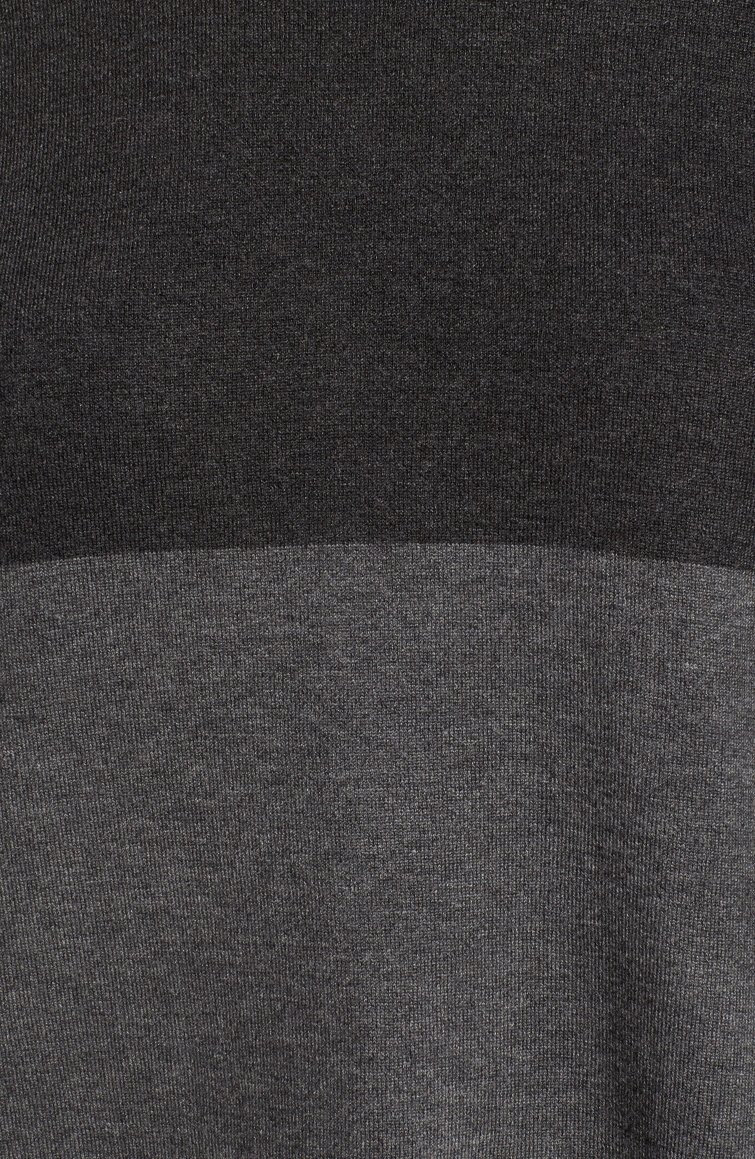 Colorblock Tencel<sup>®</sup> Blend Sweater,                             Alternate thumbnail 5, color,                             064
