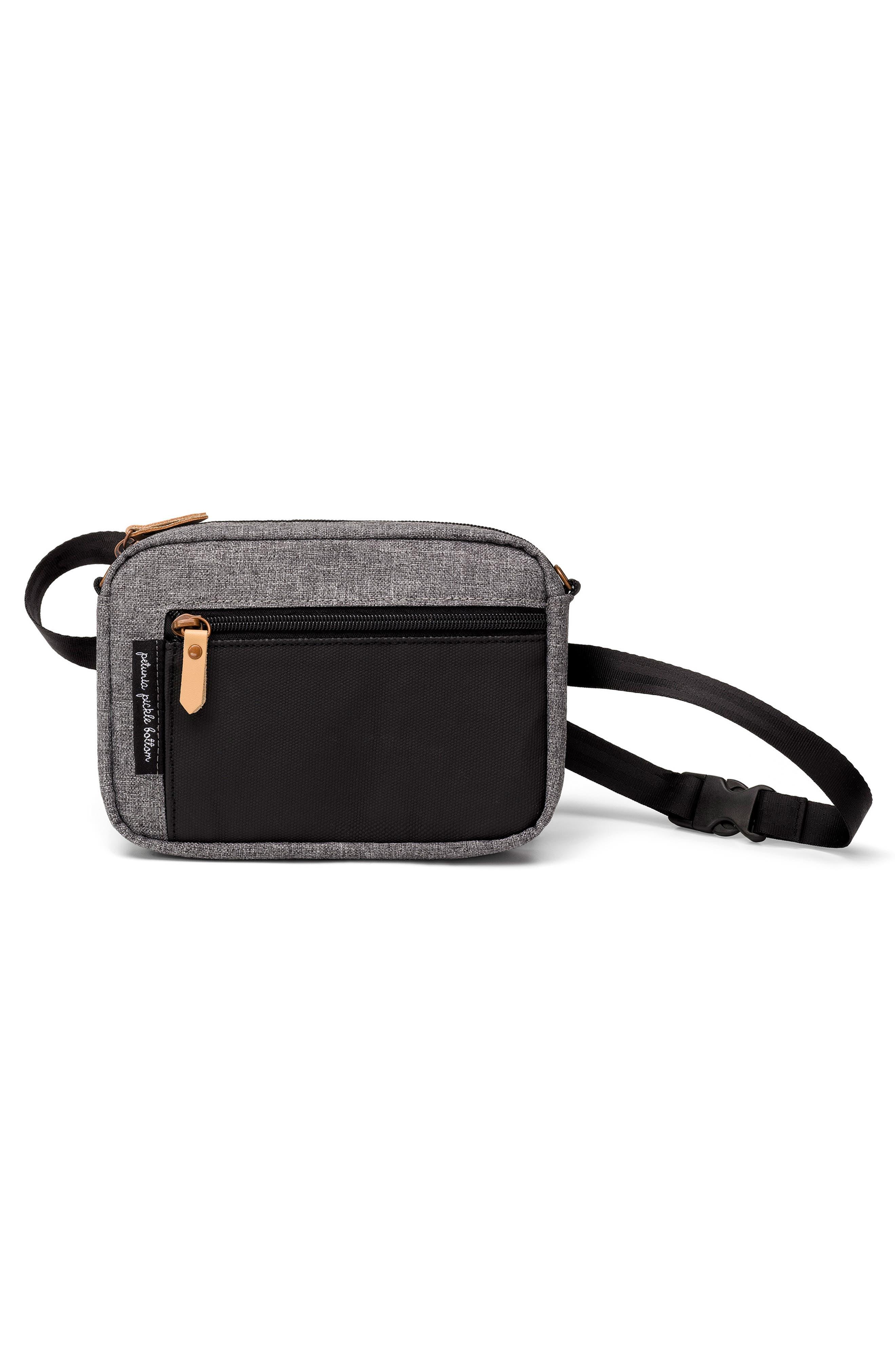 Adventurer Belt Bag,                             Alternate thumbnail 4, color,                             GRAPHITE/ BLACK