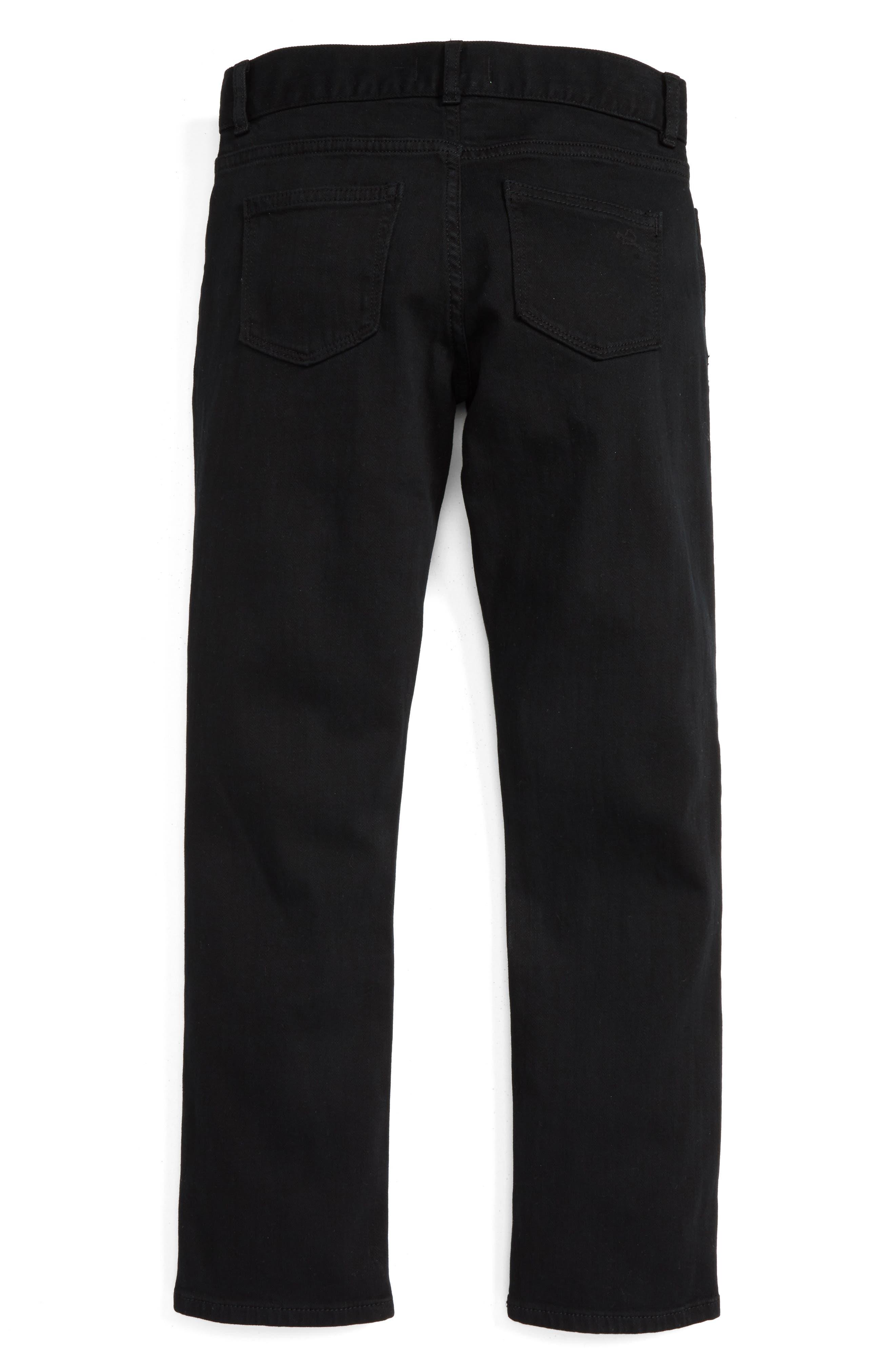 Brady Slim Fit Jeans,                             Main thumbnail 1, color,                             BLACK