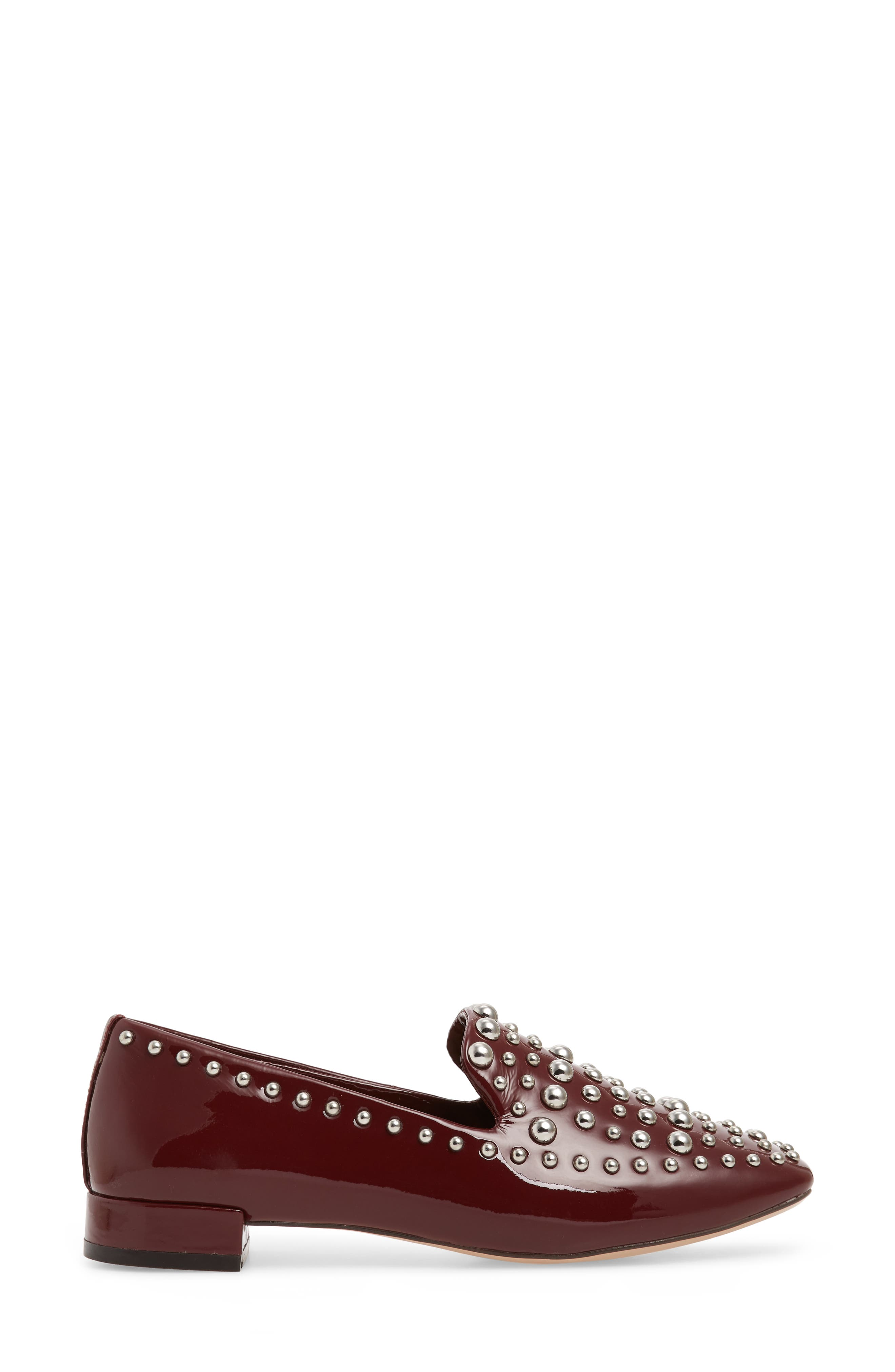 Kaylee Loafer,                             Alternate thumbnail 3, color,                             BERRY PATENT LEATHER
