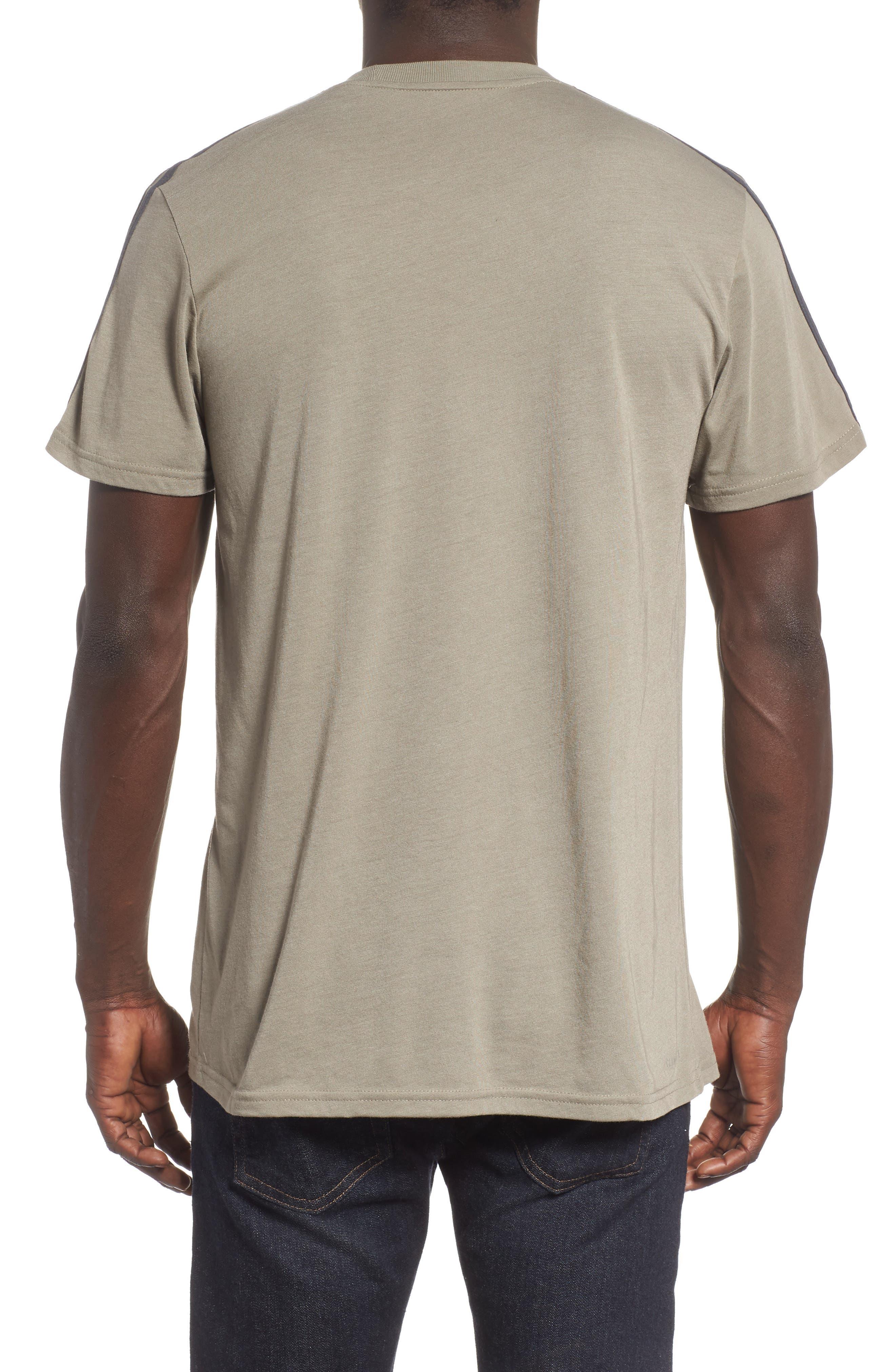 Classic International Crewneck T-Shirt,                             Alternate thumbnail 2, color,                             001