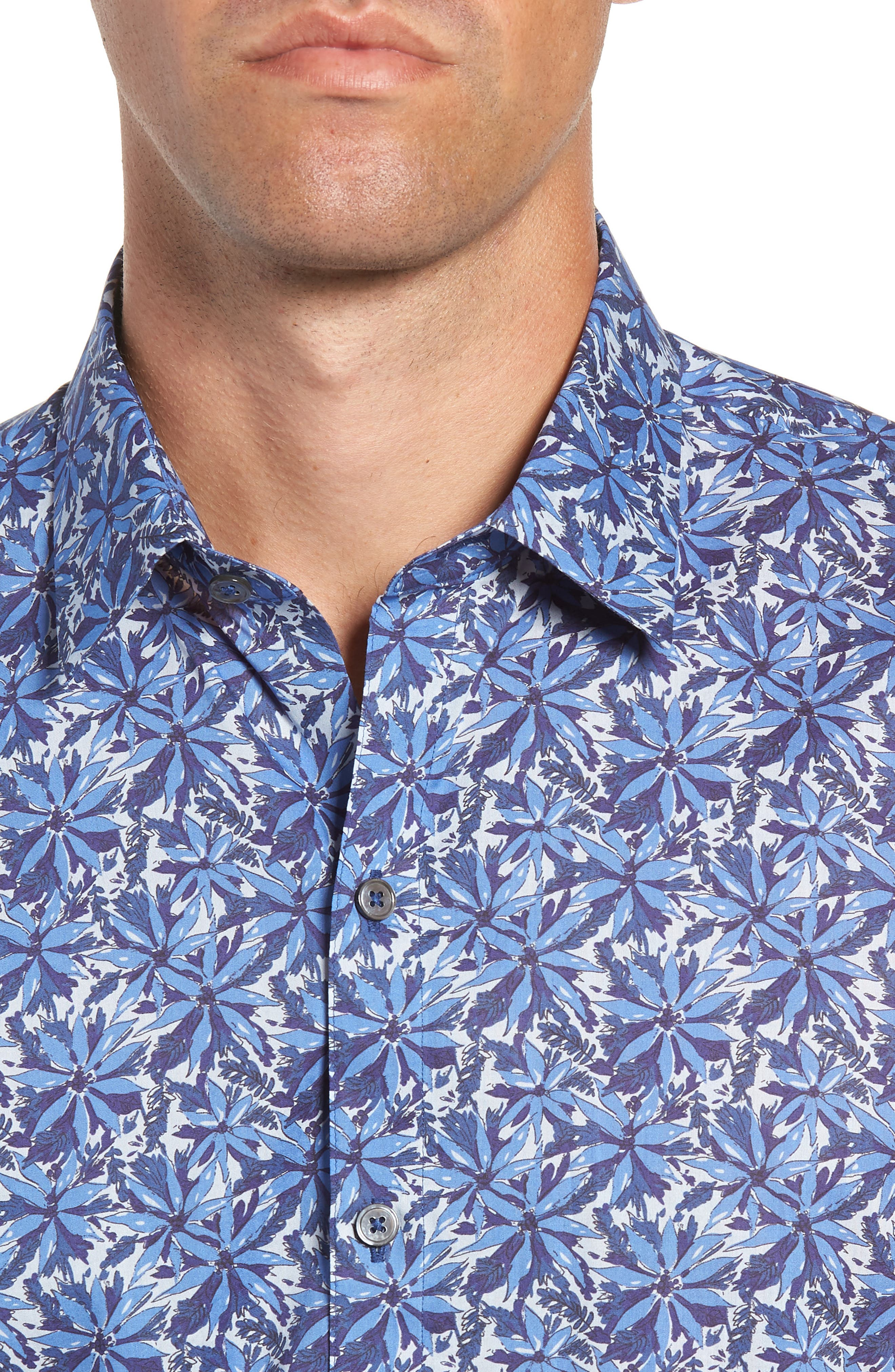 ZACHARY PRELL,                             Ose Regular Fit Sport Shirt,                             Alternate thumbnail 2, color,                             400