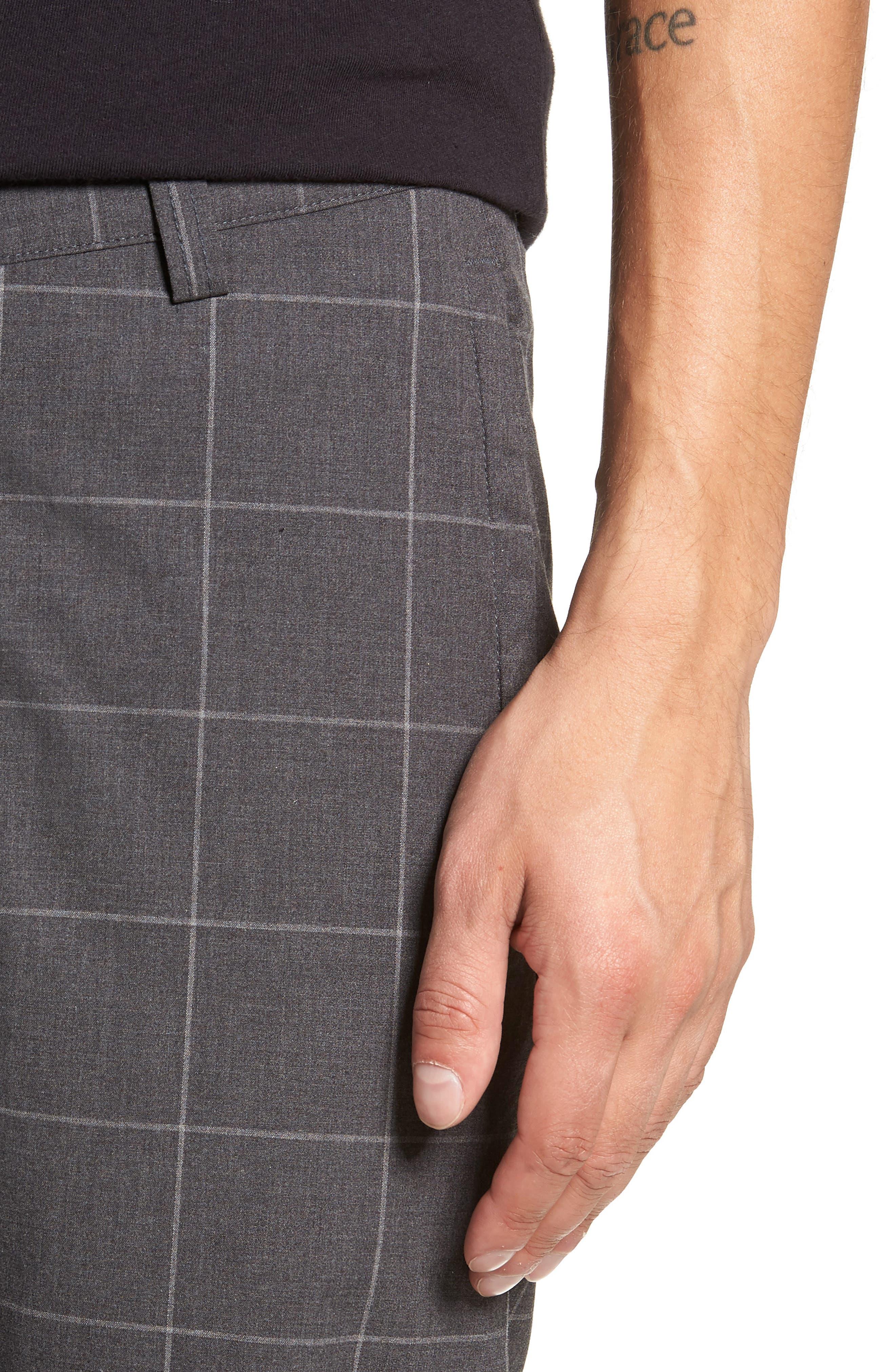 Windowpane Officer Slim Pants,                             Alternate thumbnail 4, color,                             020