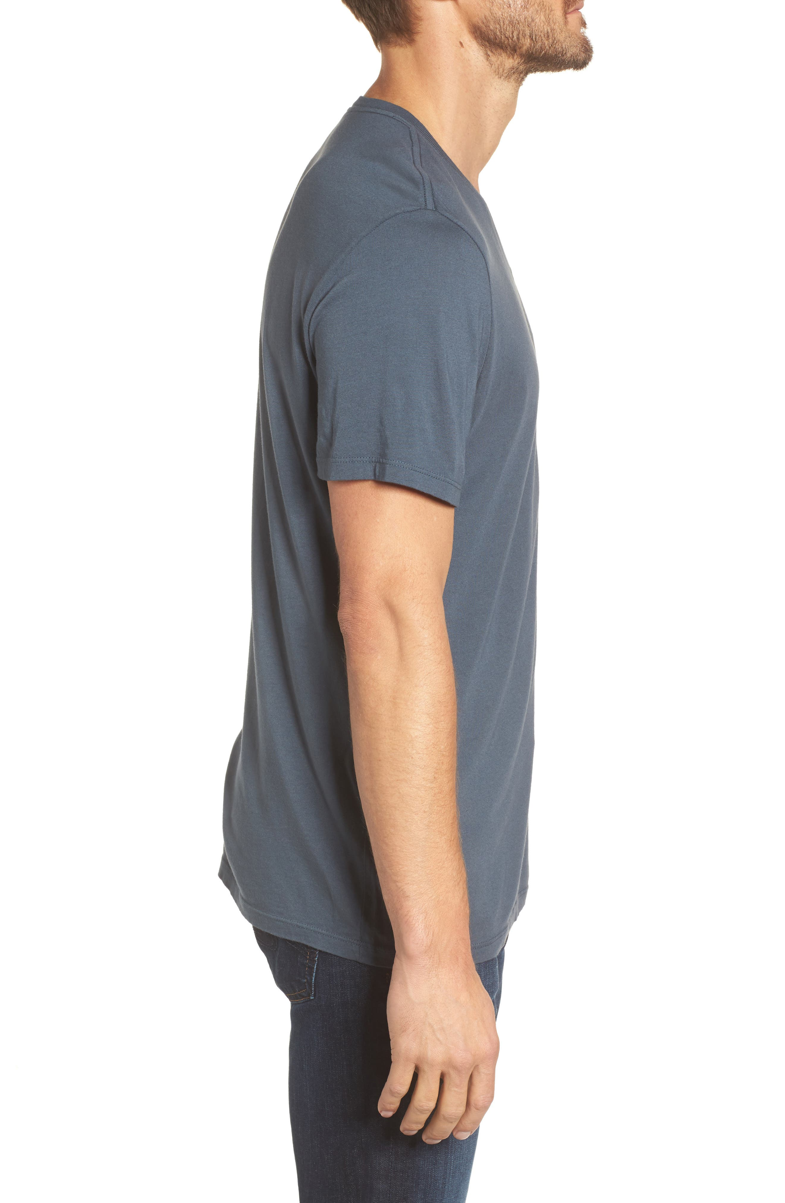 Bryce V-Neck T-Shirt,                             Alternate thumbnail 5, color,