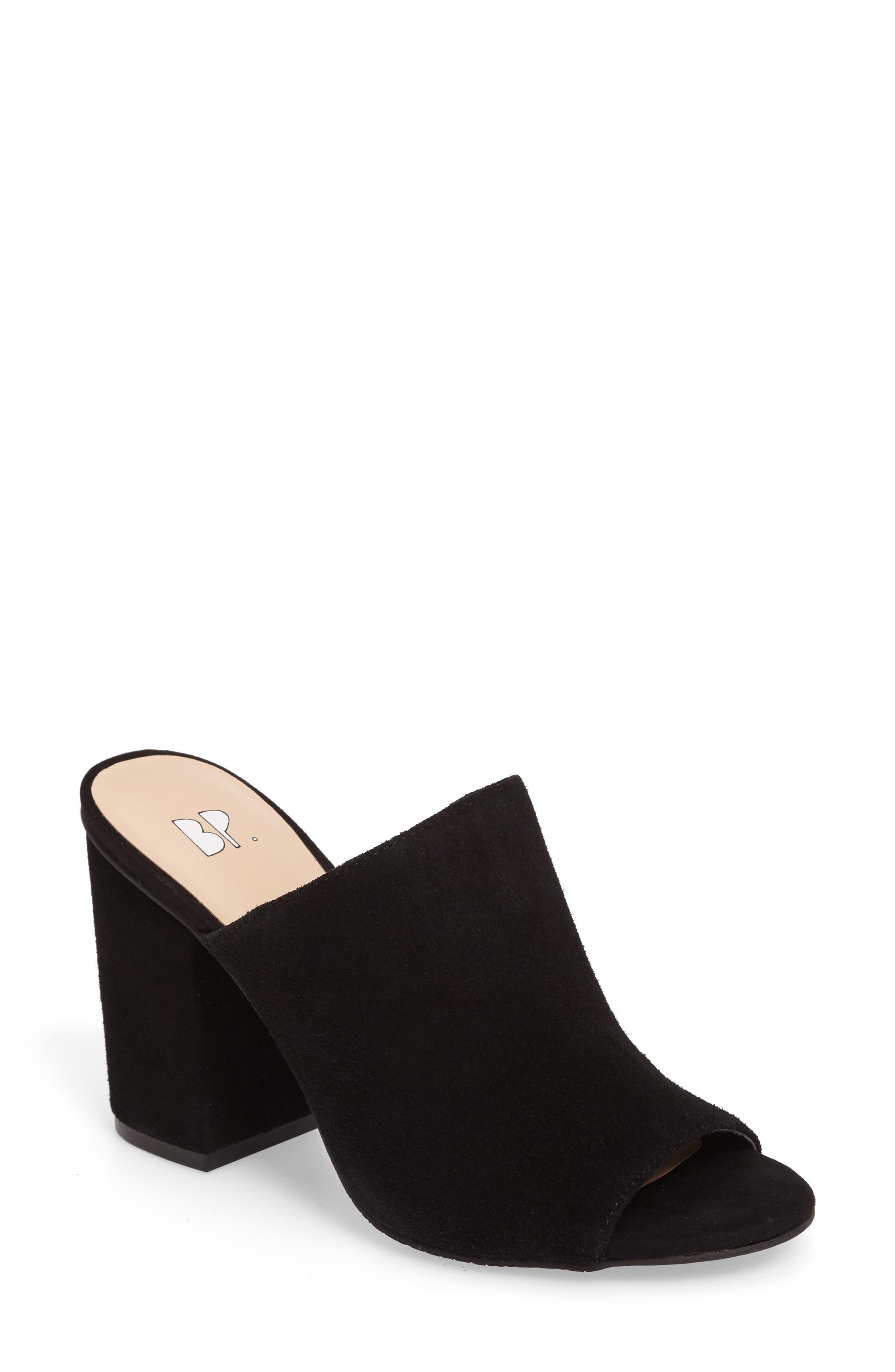 Tale Block Heel Sandal,                             Main thumbnail 1, color,                             001