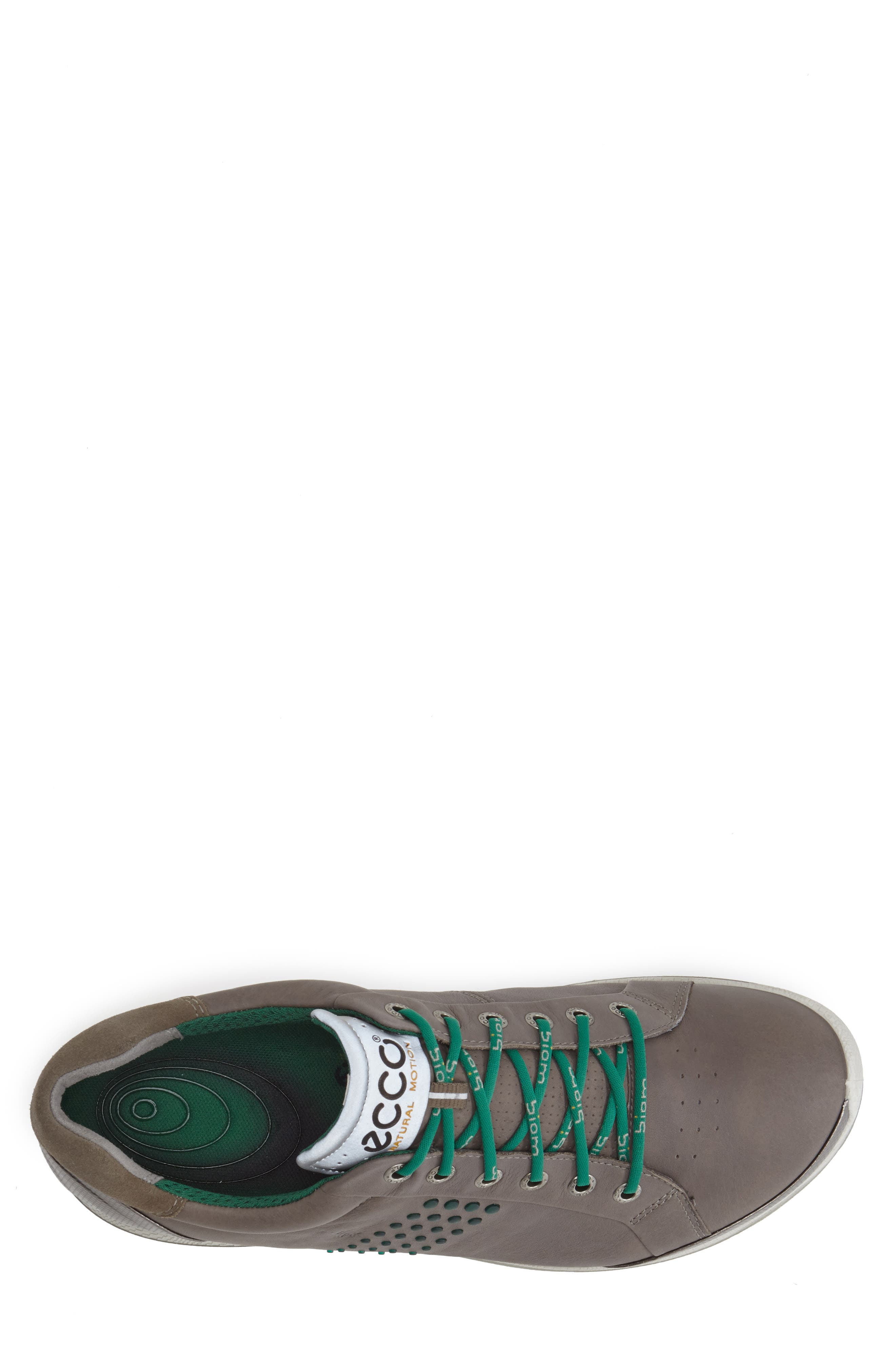 BIOM Hybrid 2 Golf Shoe,                             Alternate thumbnail 3, color,                             WARM GREY/ GREEN