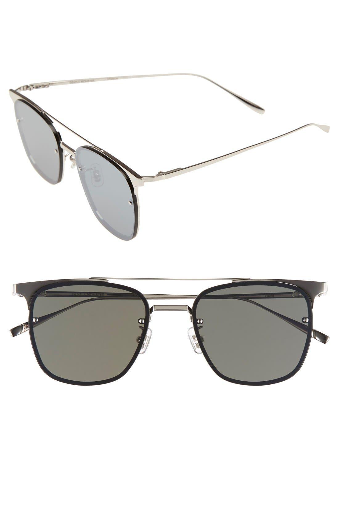 GENTLE MONSTER,                             'Fame' 55mm Retro Sunglasses,                             Main thumbnail 1, color,                             040