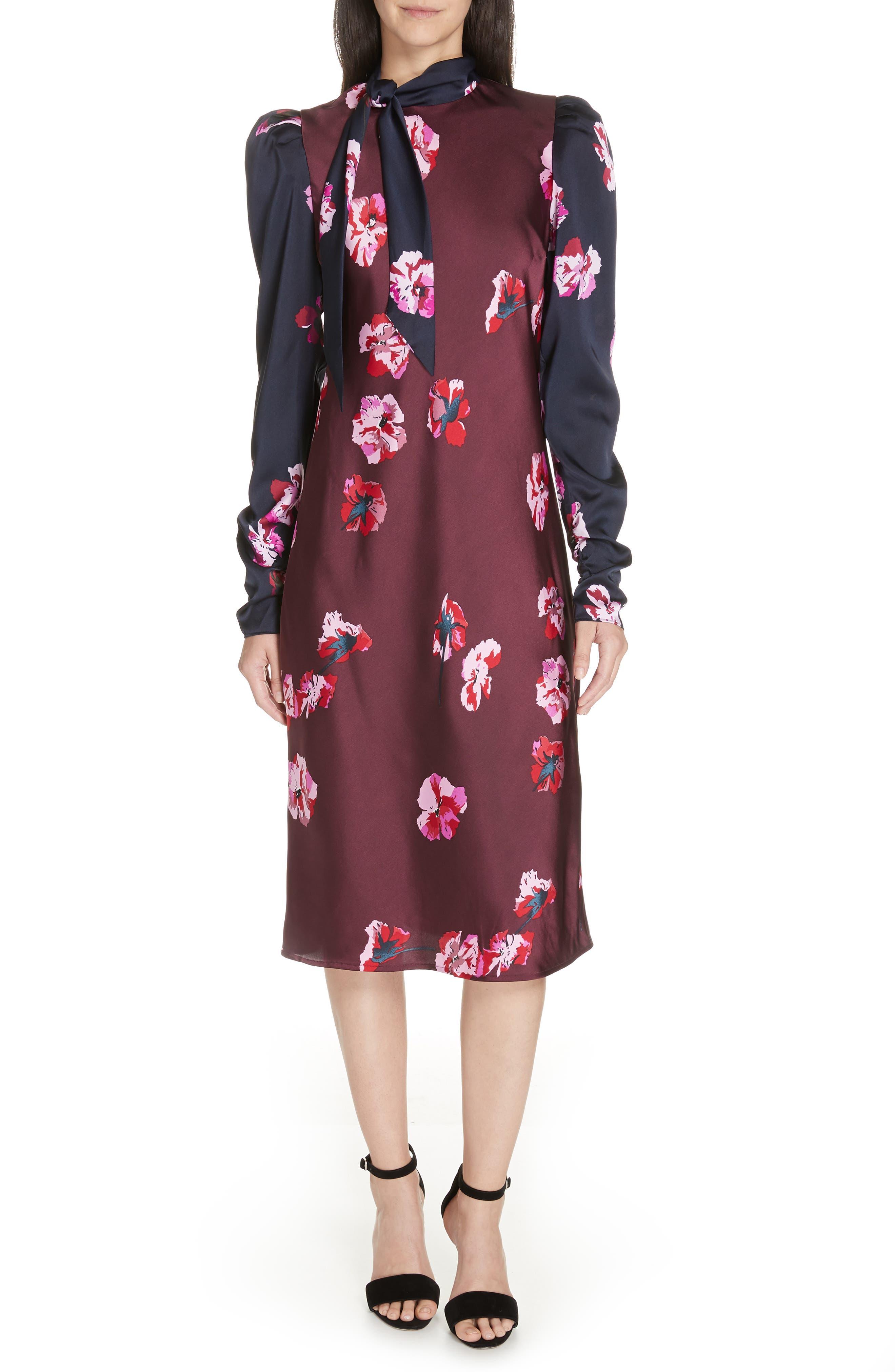 Kyan Sheath Dress,                         Main,                         color, MIDNIGHT-BLACKB