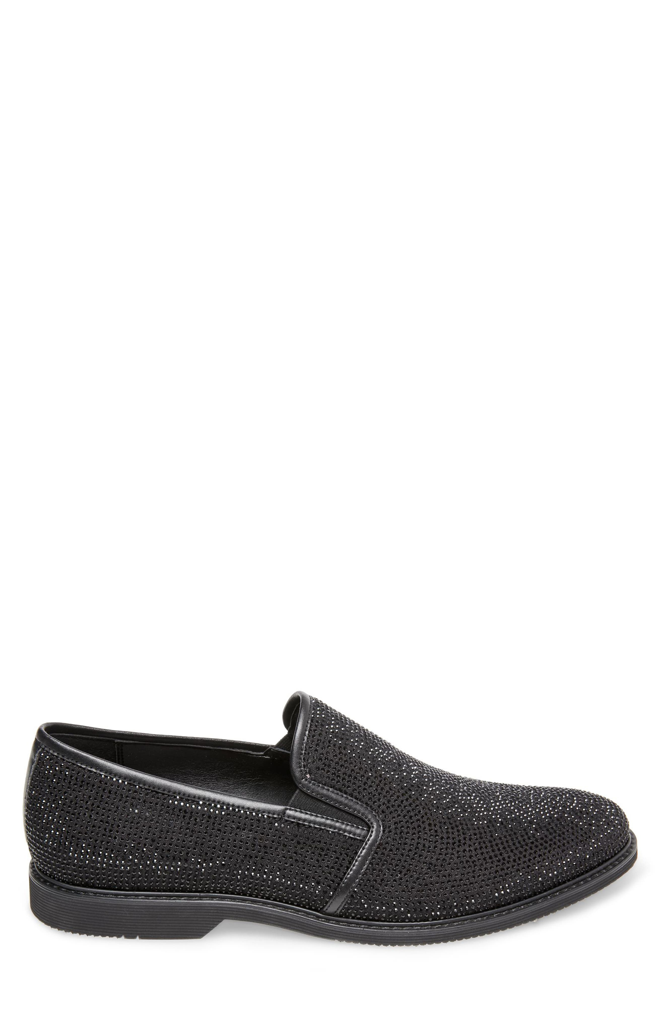 Nasca Studded Slip-On,                             Alternate thumbnail 2, color,                             BLACK