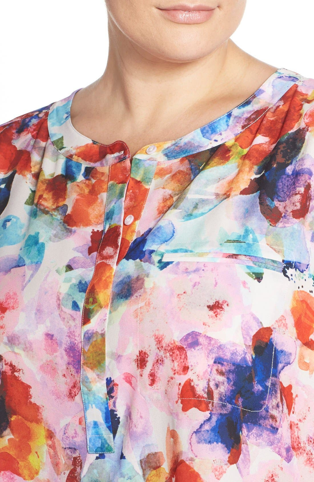 Henley Top,                             Alternate thumbnail 168, color,