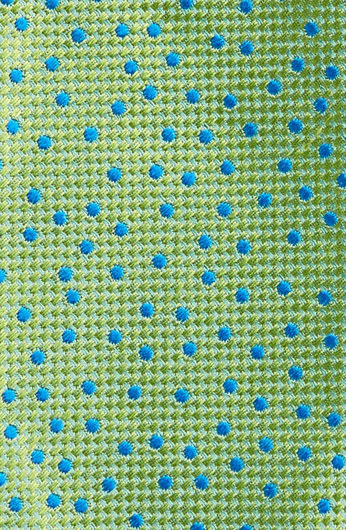 Jacquard Micro Dot Silk Bow Tie,                             Alternate thumbnail 4, color,                             300