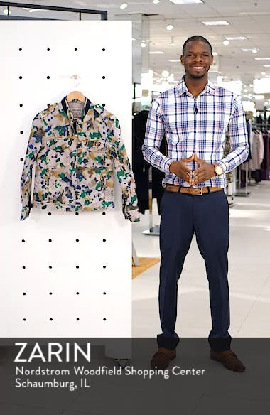Kavy Watercolor Camouflage Cotton Jacket, sales video thumbnail