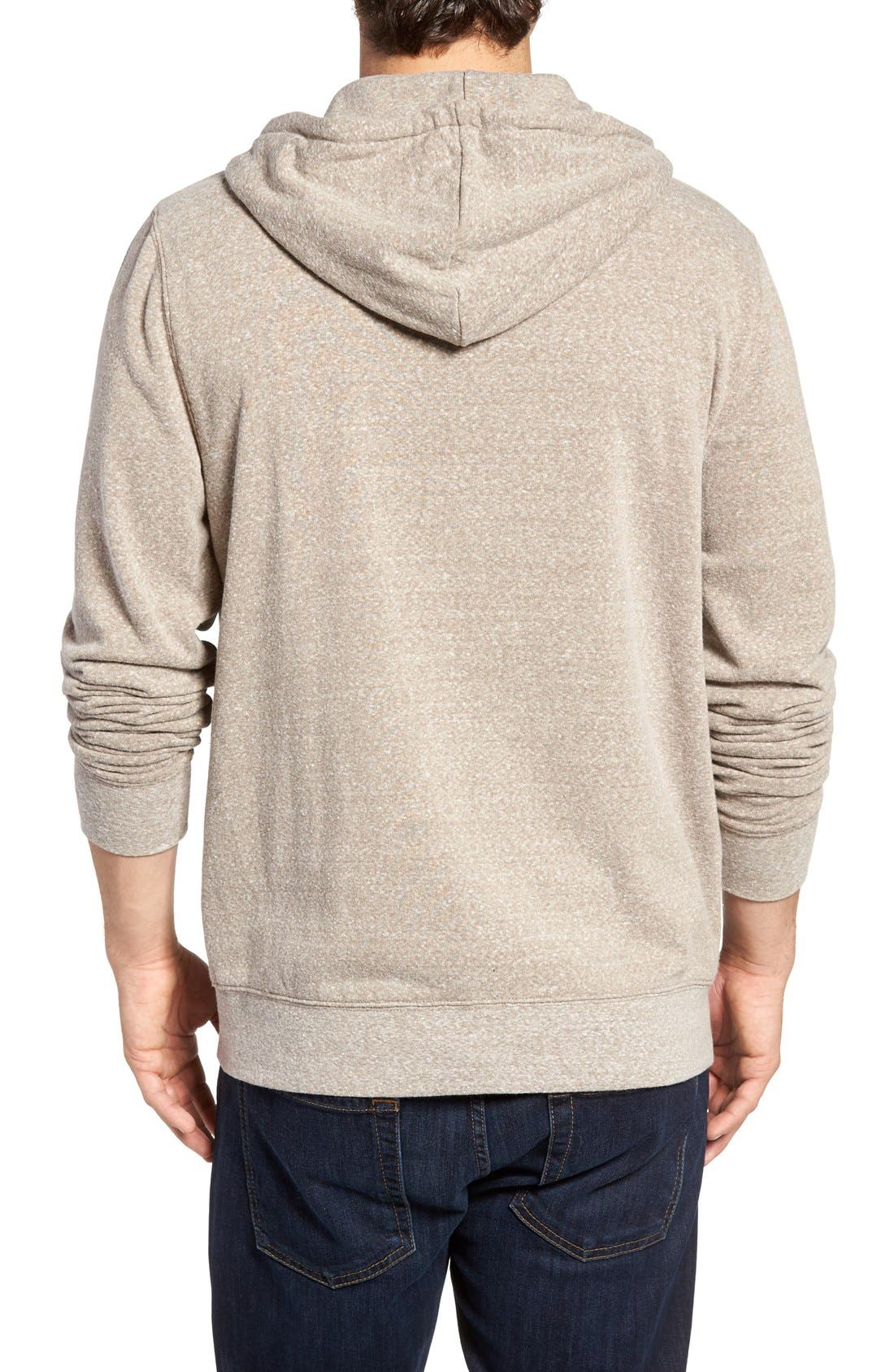 Threads for Thought Trim Fit Heathered Hoodie,                             Alternate thumbnail 36, color,