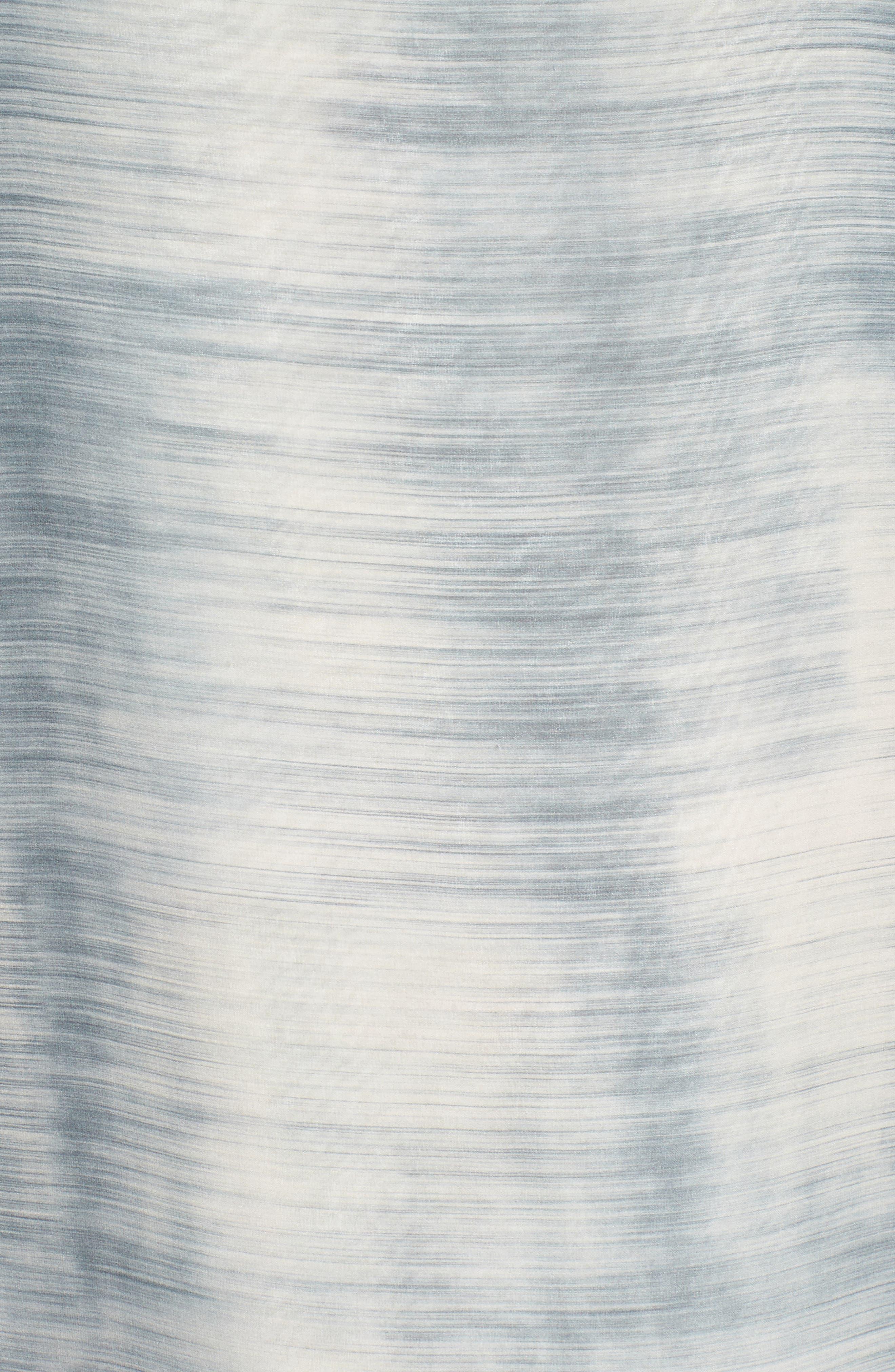 Bateau Neck Silk Shift Dress,                             Alternate thumbnail 11, color,
