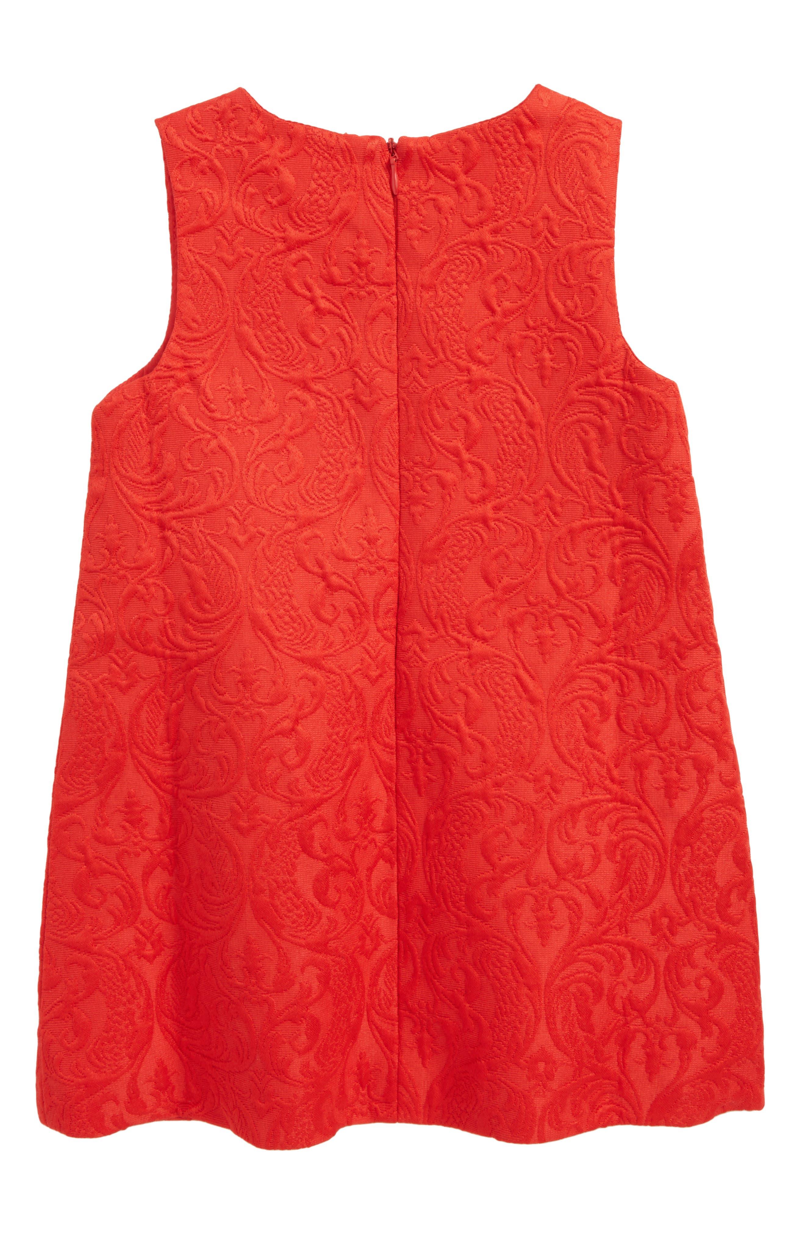 Heart Jacquard Dress,                             Alternate thumbnail 2, color,