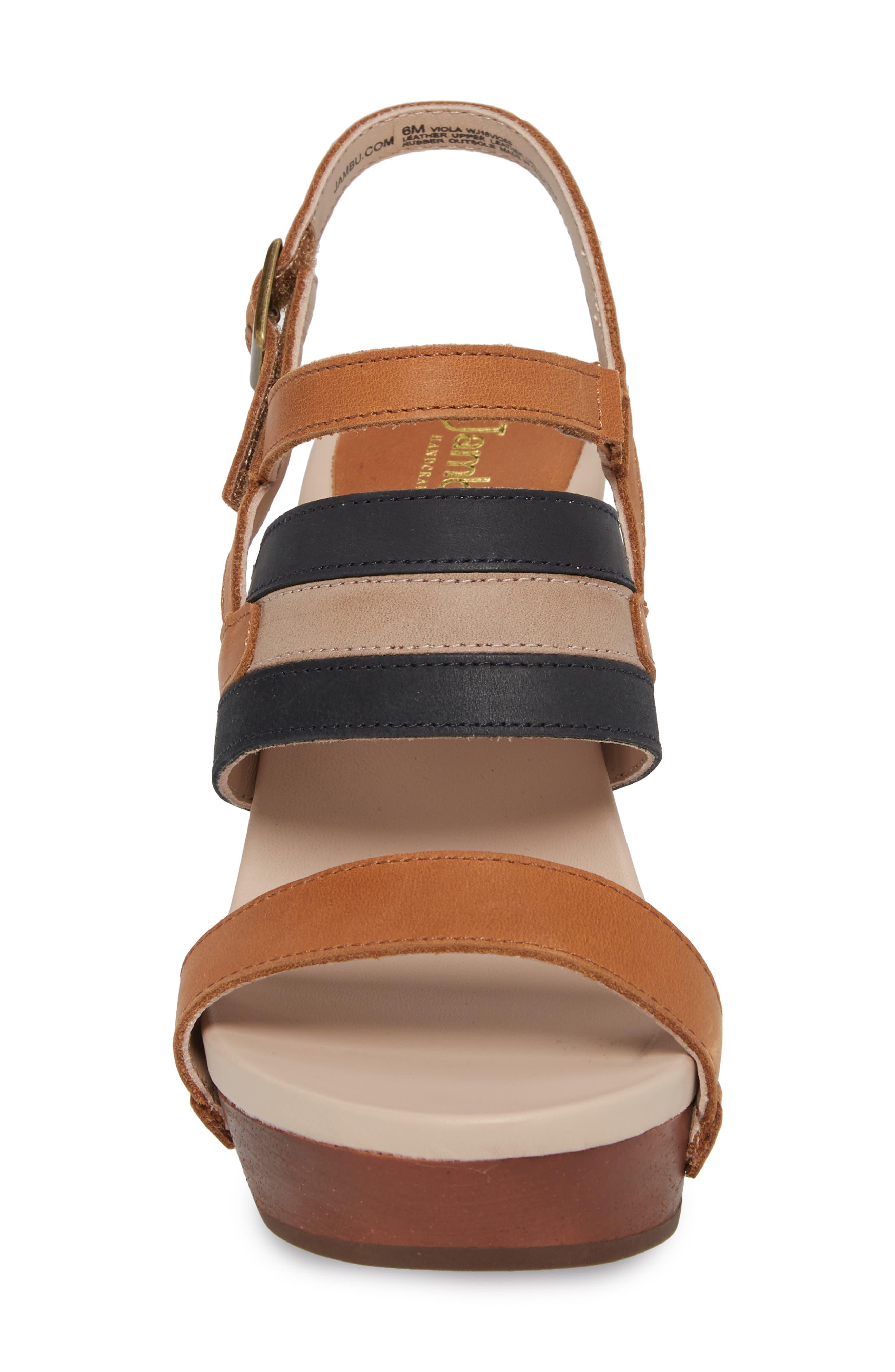 Viola Platform Sandal,                             Alternate thumbnail 4, color,                             200