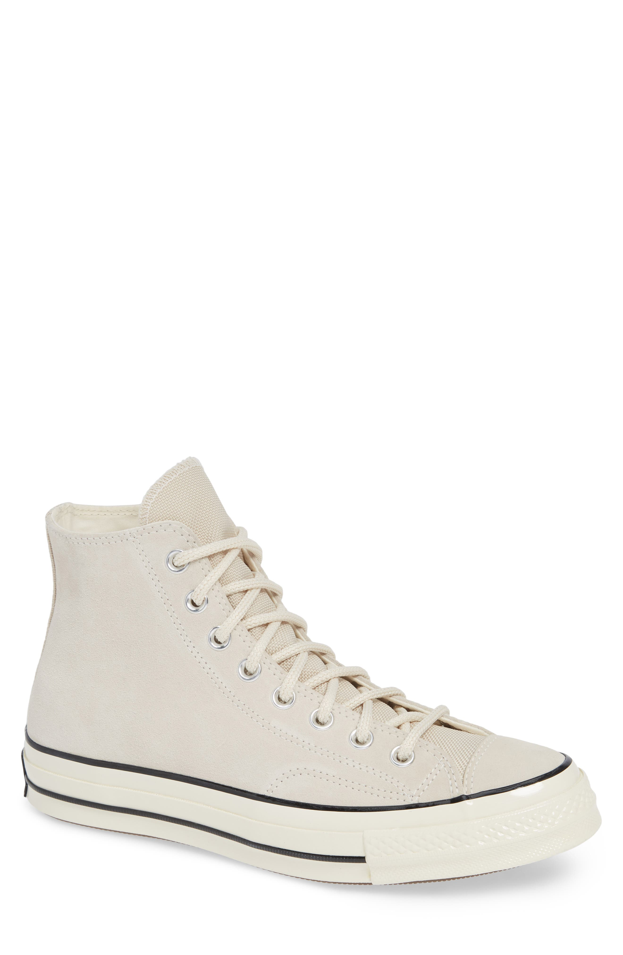 Chuck Taylor<sup>®</sup> All Star<sup>®</sup> 70 Base Camp High Top Sneaker,                         Main,                         color, NATURAL IVORY/BLACK