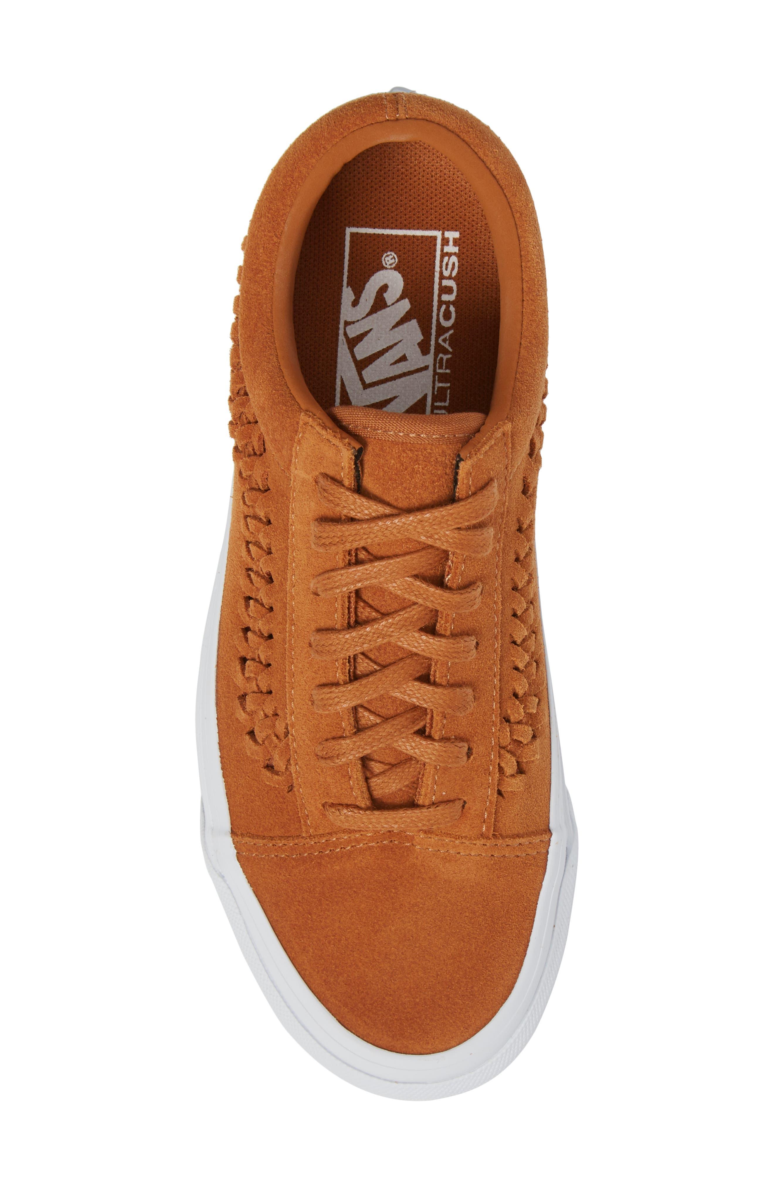 Old Skool Weave DX Sneaker,                             Alternate thumbnail 5, color,                             200