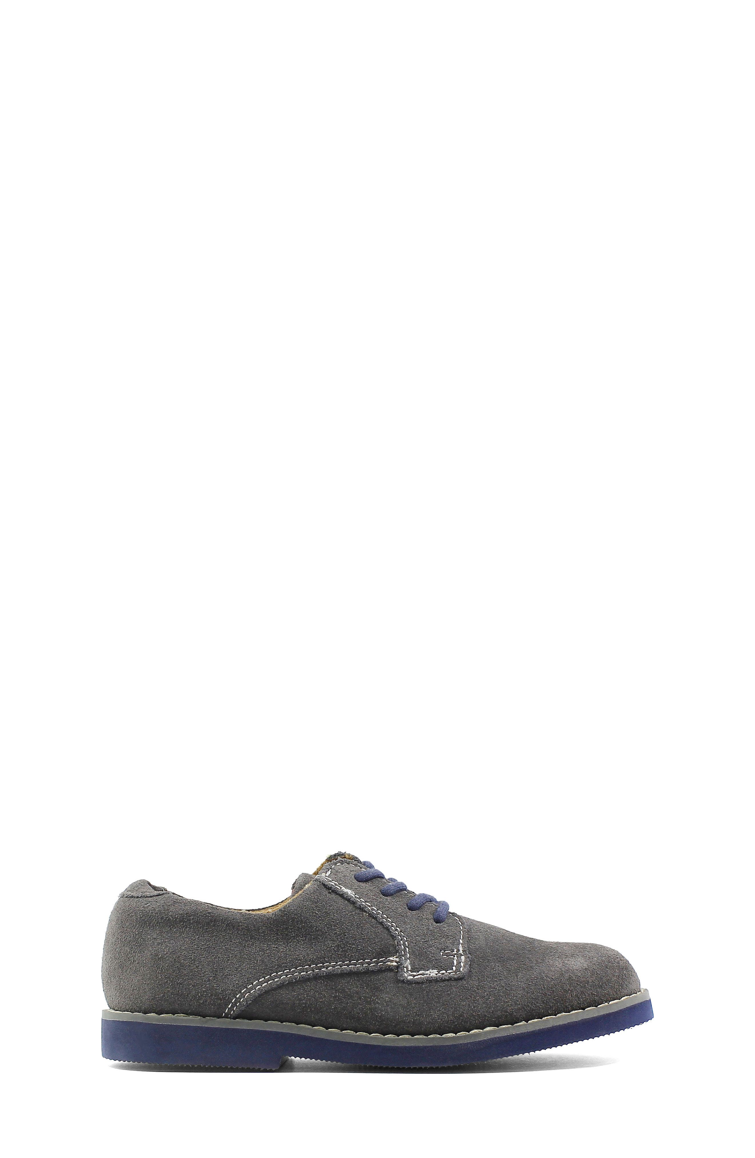 Kearny Two Tone Oxford,                             Alternate thumbnail 4, color,                             GREY/ NAVY SOLE