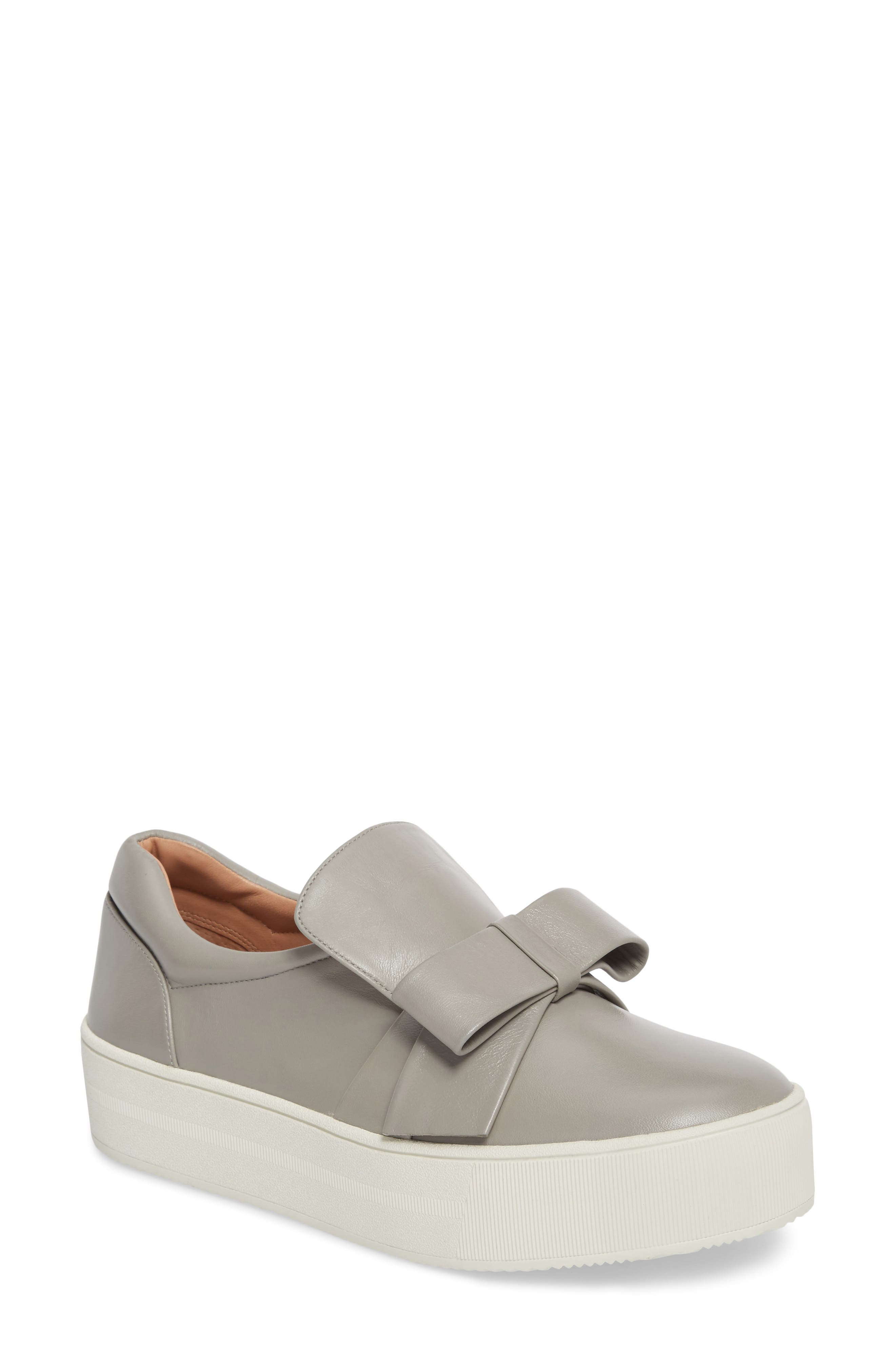Vania Bow Platform Sneaker,                             Main thumbnail 2, color,