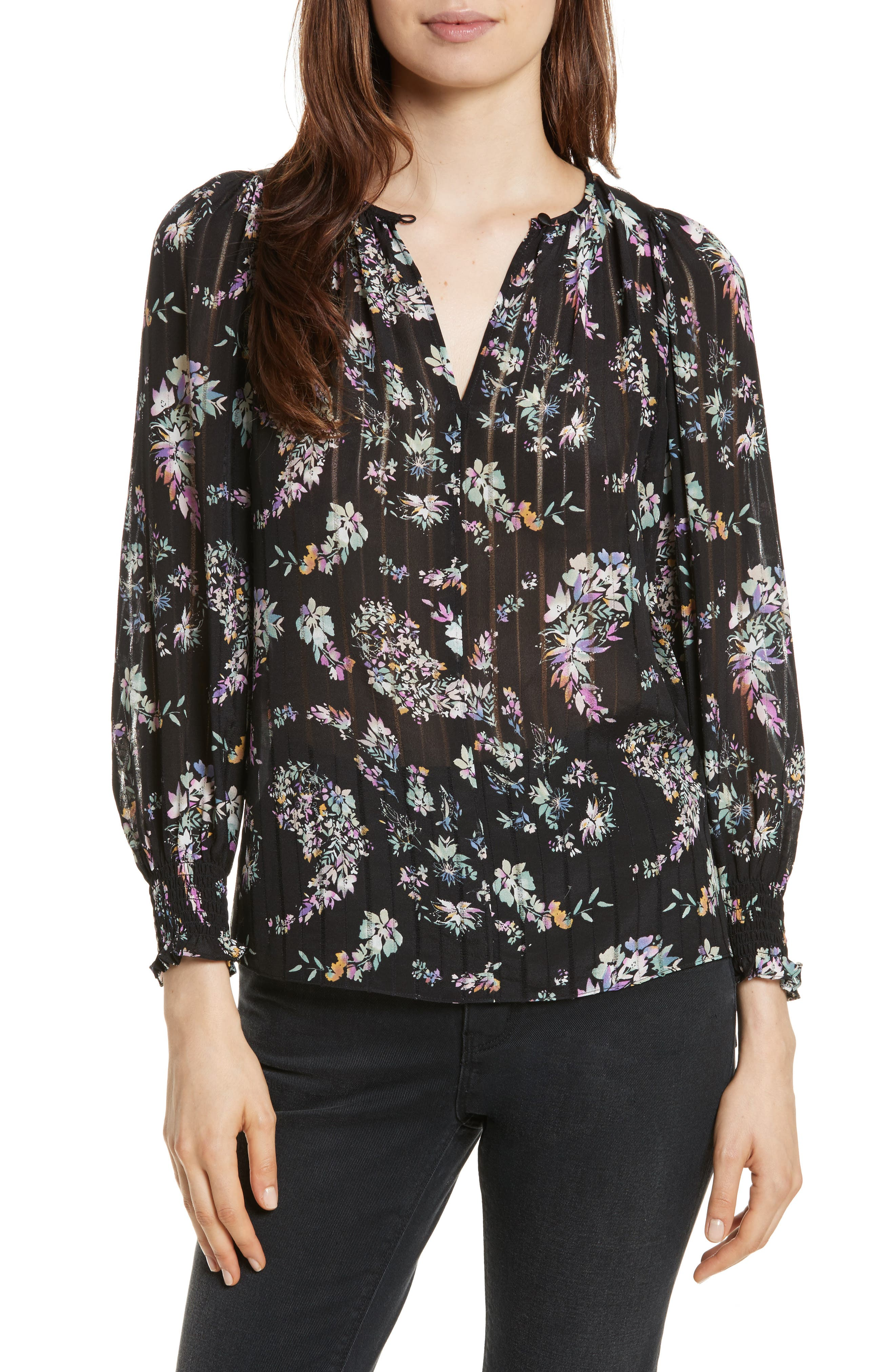 Jewel Paisley Top,                         Main,                         color,